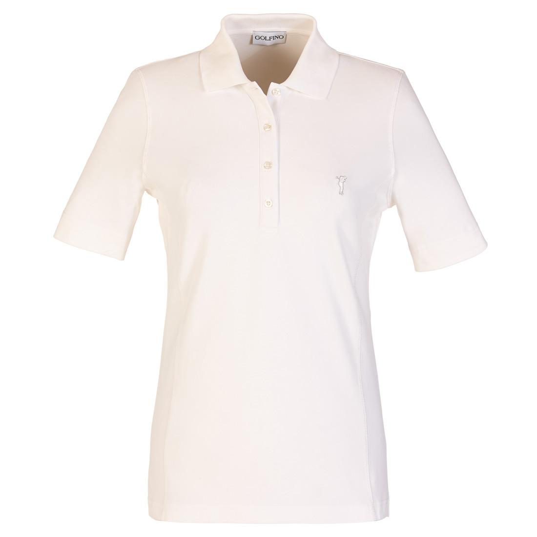 Kurzarm Poloshirt mit Sonnenschutz