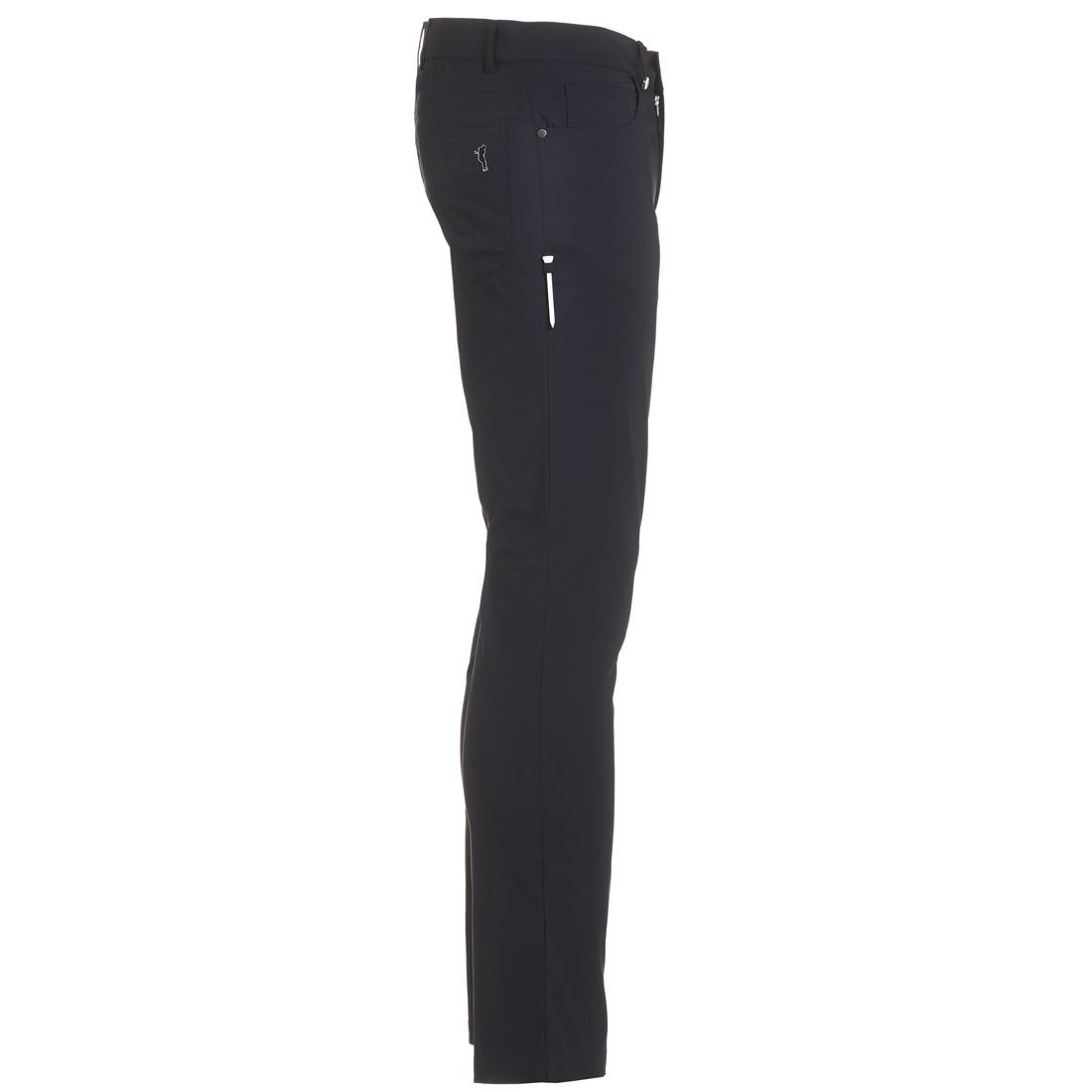 5-Pocket Techno Stretch Hose schmalgeschnitten