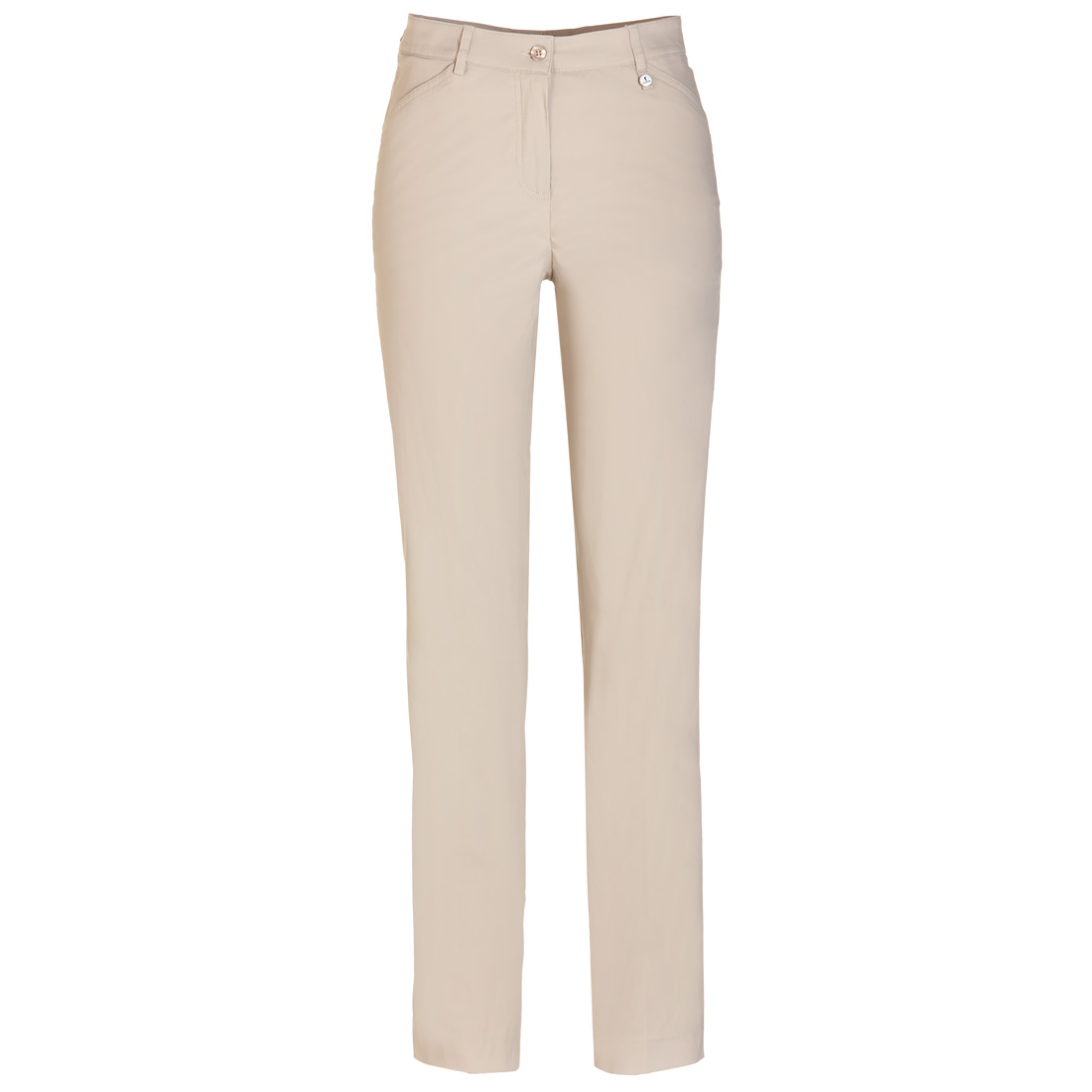 Klassische Multistretch Hose Light taupe