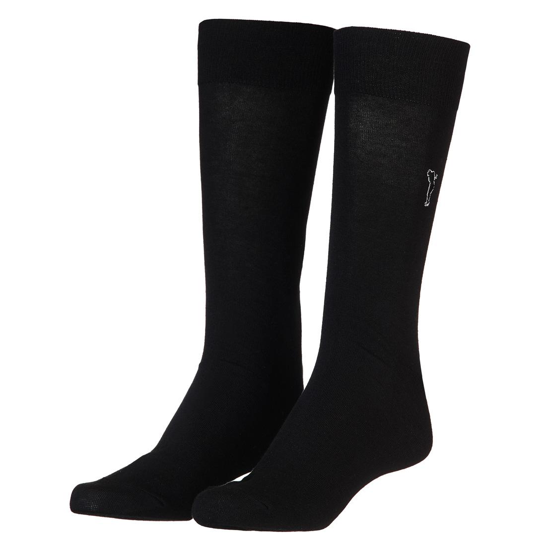 Unifarbene Socken