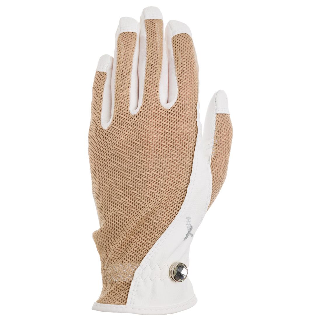 Golf Handschuh (links) aus leichtem Netzmaterial