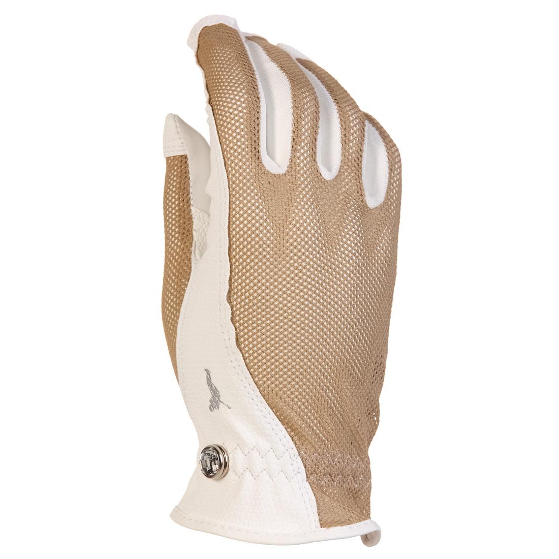 Golf Handschuh (rechts) aus leichtem Netzmaterial
