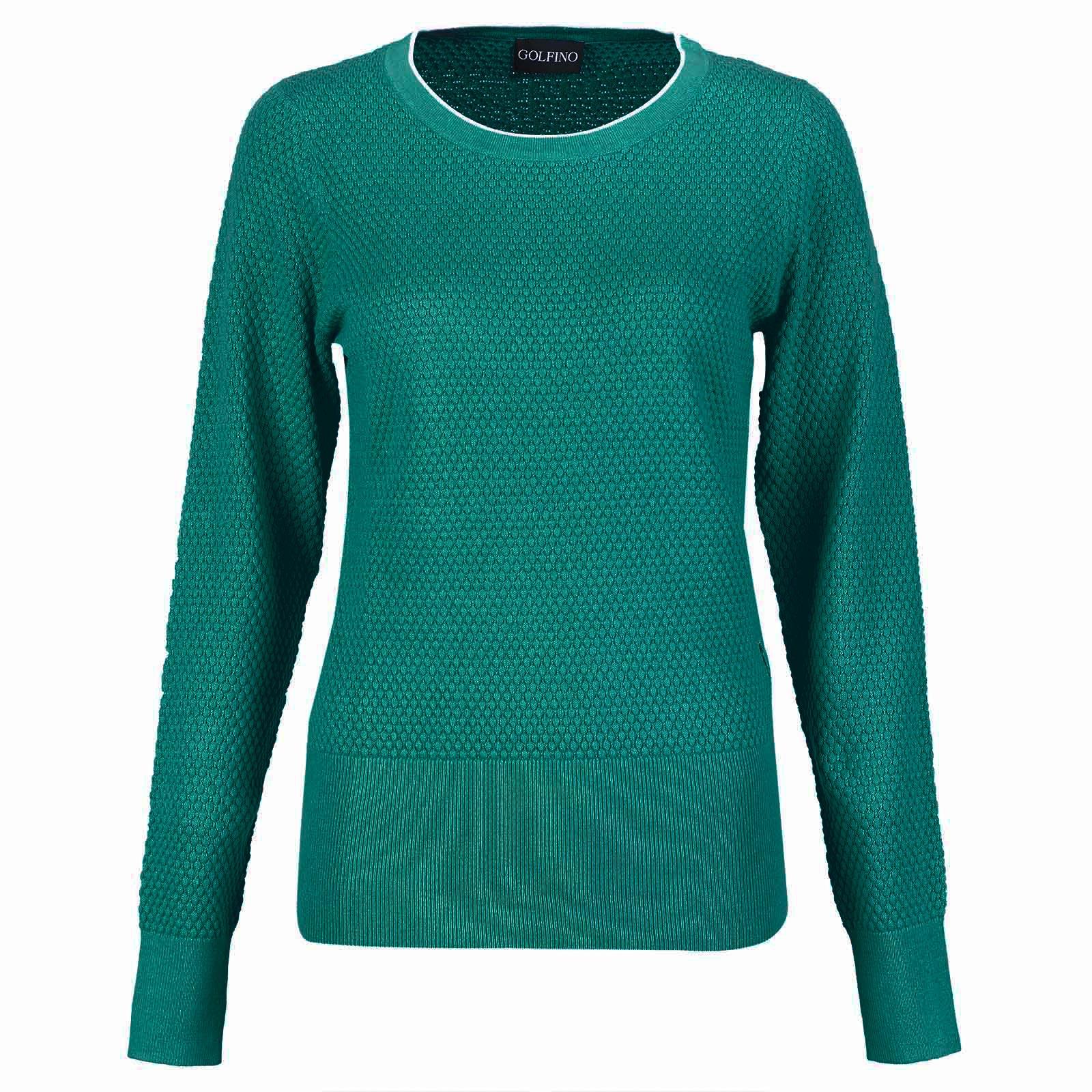 Damen Golf Pullover feuchtigkeitsregulierend mit kühlendem Effekt