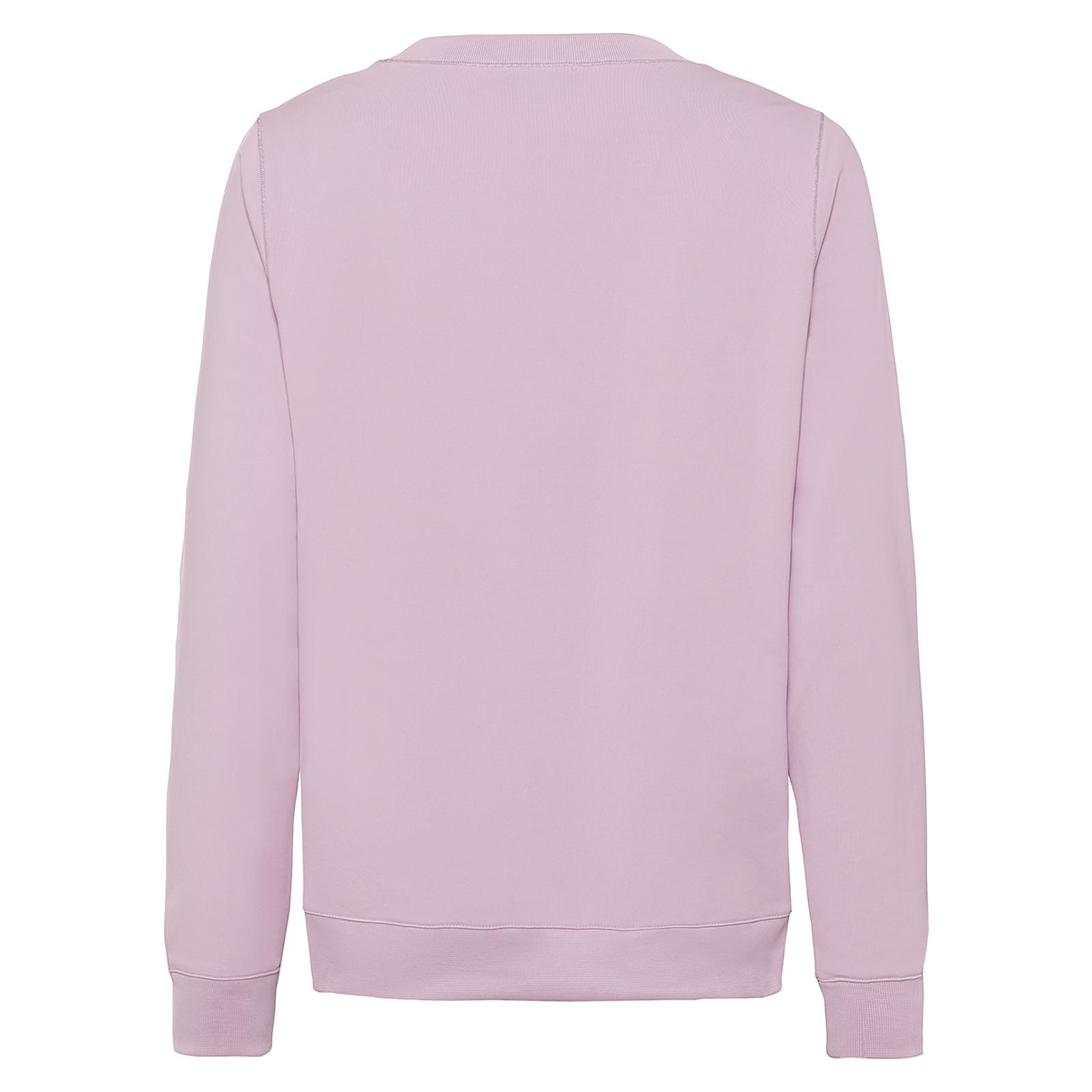 Damen Rundhals Pullover mit Extra Stretch Komfort und Strass-Applikation