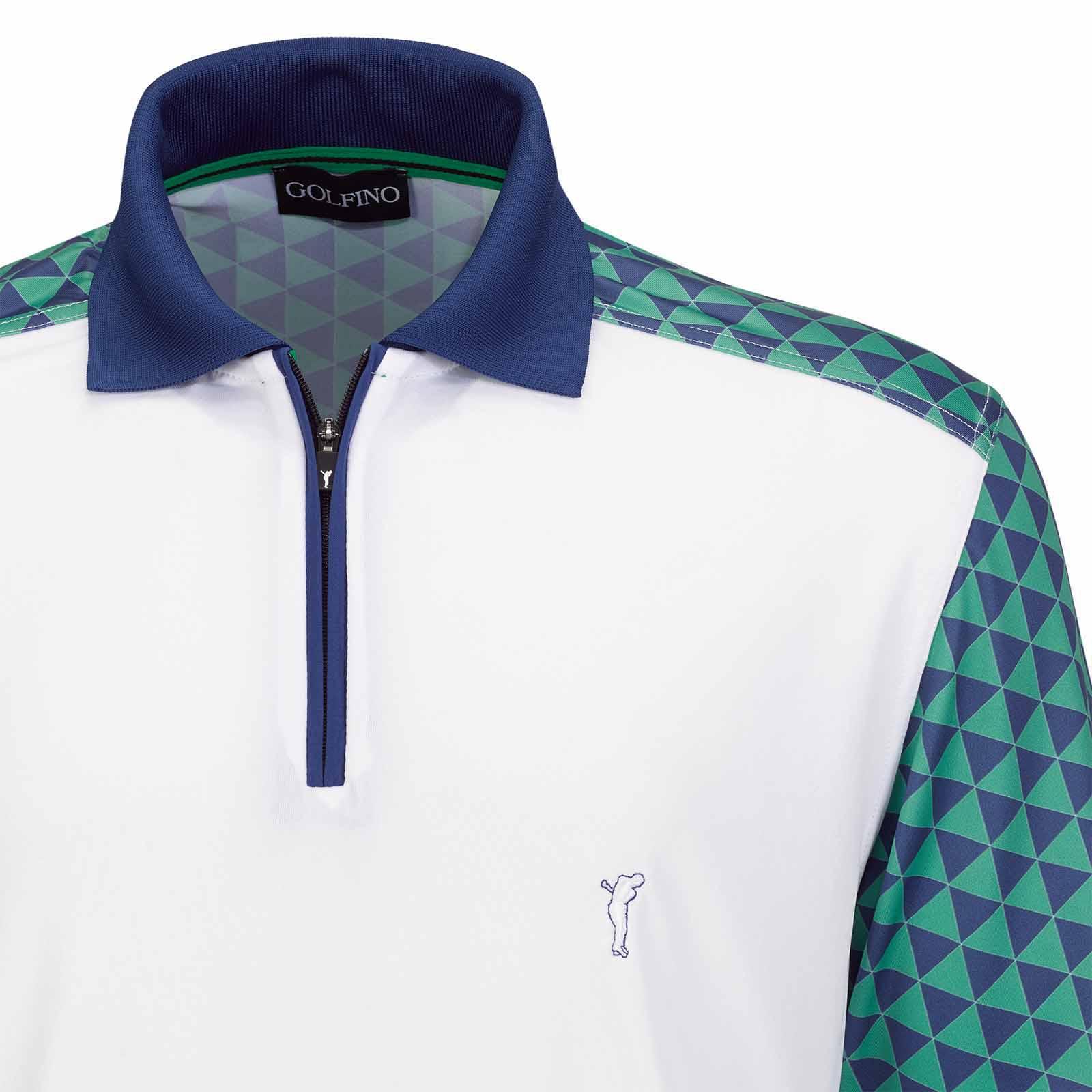 Herren Kurzarm Polo Shirt mit Sonnenschutz und antibakteriellen Eigenschaften