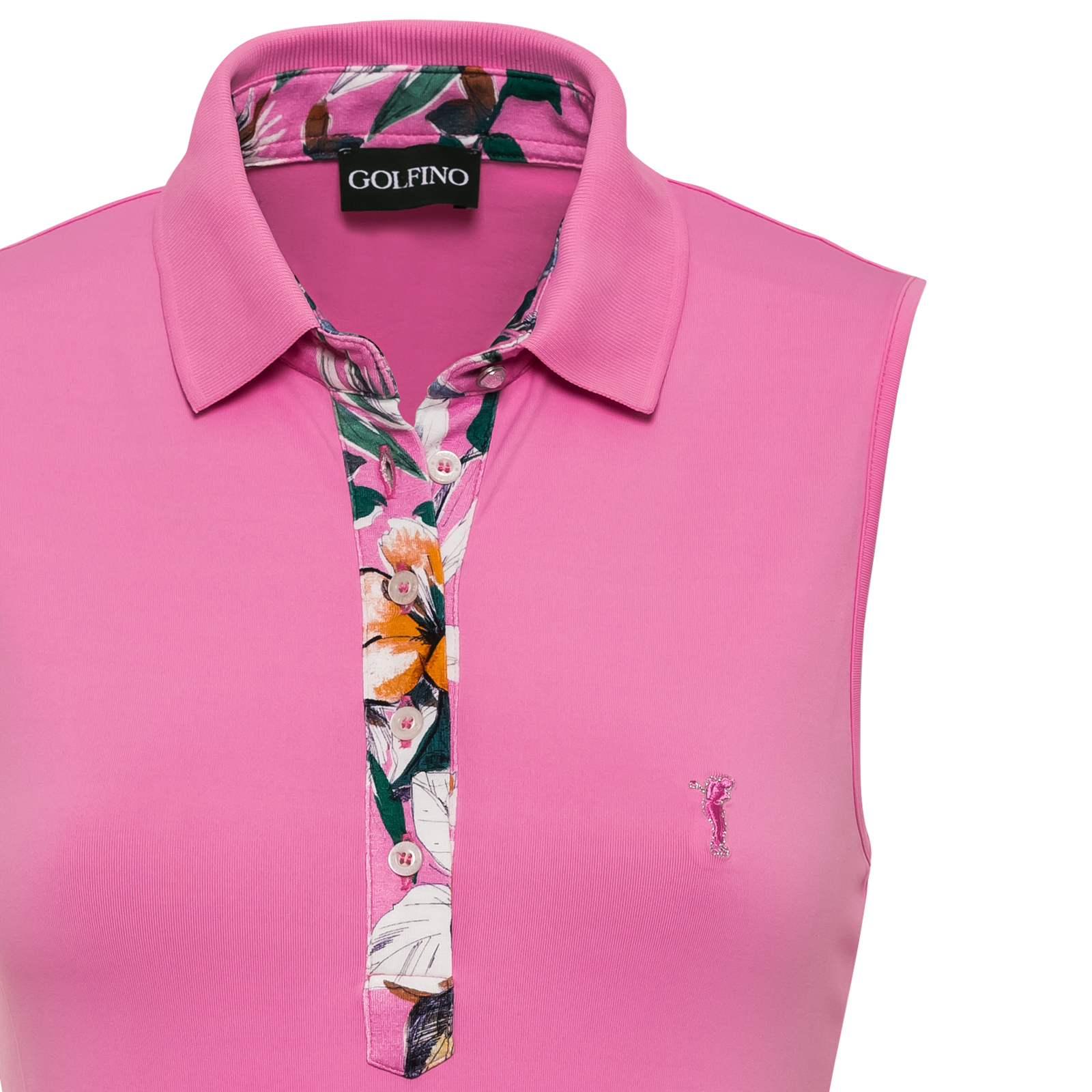Ärmelloses Damen Golf-Polo mit DryComfort-Funktion