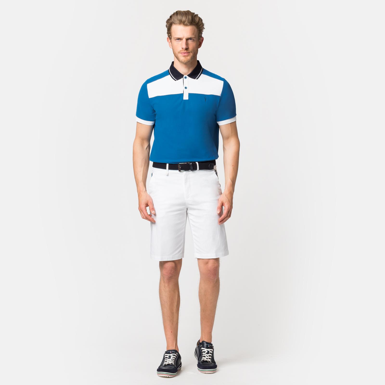 Herren Funktions-Golfpolo feuchtigkeitsregulierend in Regular Fit