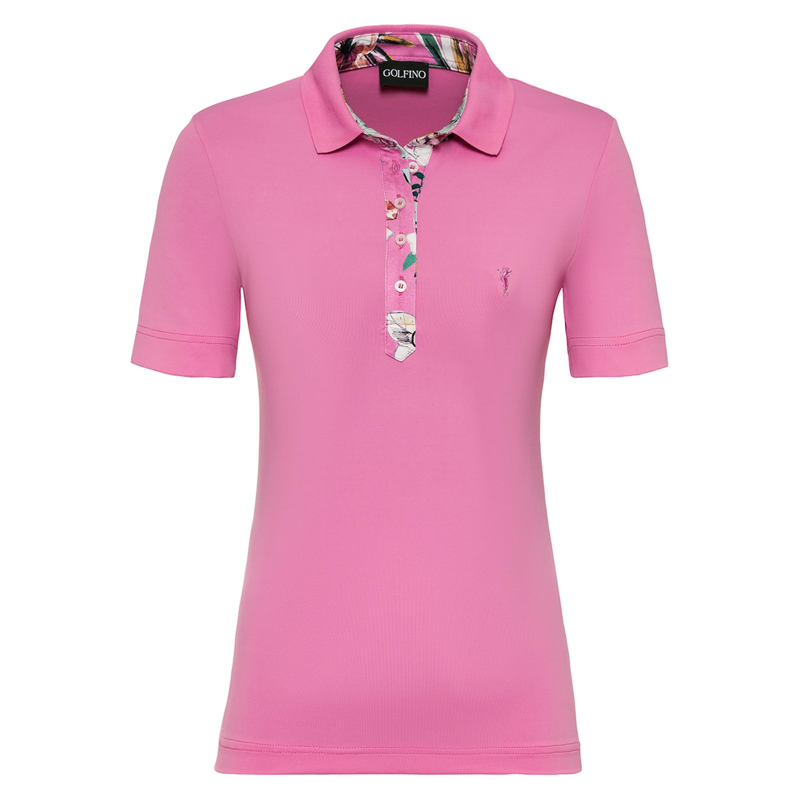 Kurzärmeliges Damen Golf-Polo mit DryComfort-Funktion