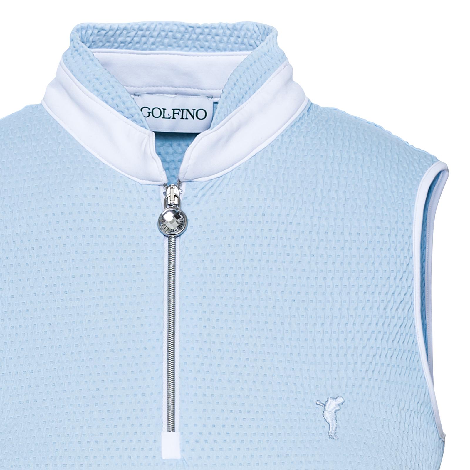 Ärmelloses Damen Golf Shirt