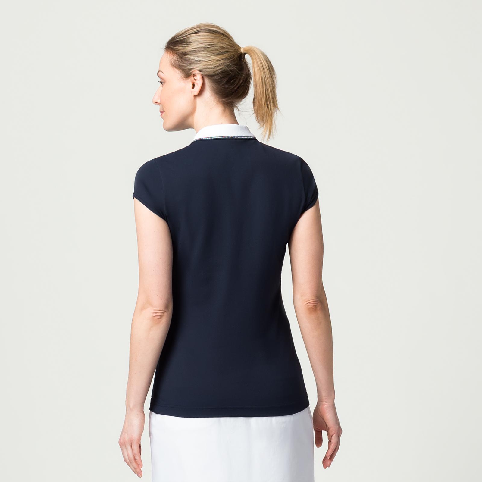 Damen Kurzarm-Polo mit Sonnenschutz und Extra Stretch Komfort