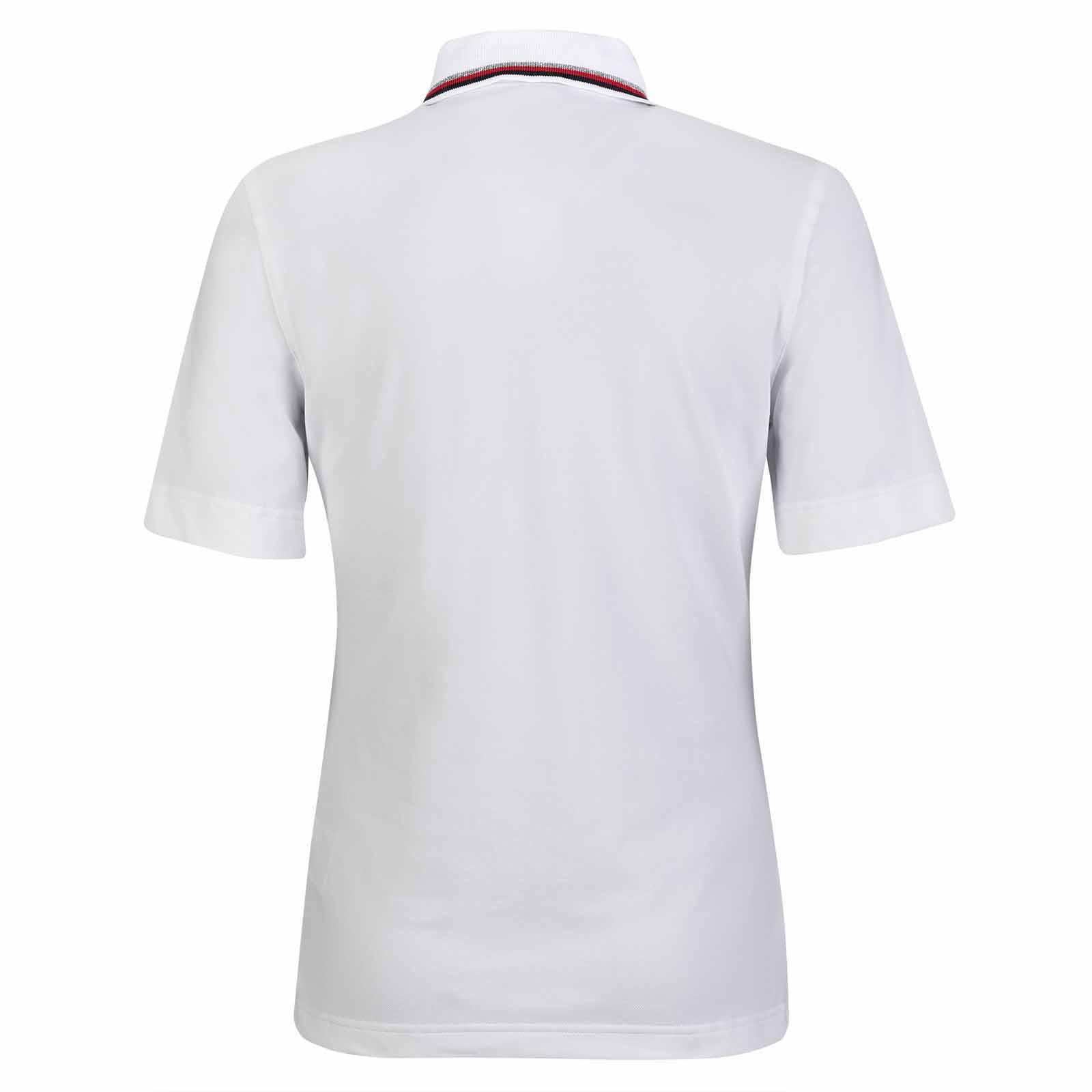 Damen Kurzarm Poloshirt mit Sonnenschutz in Slim Fit