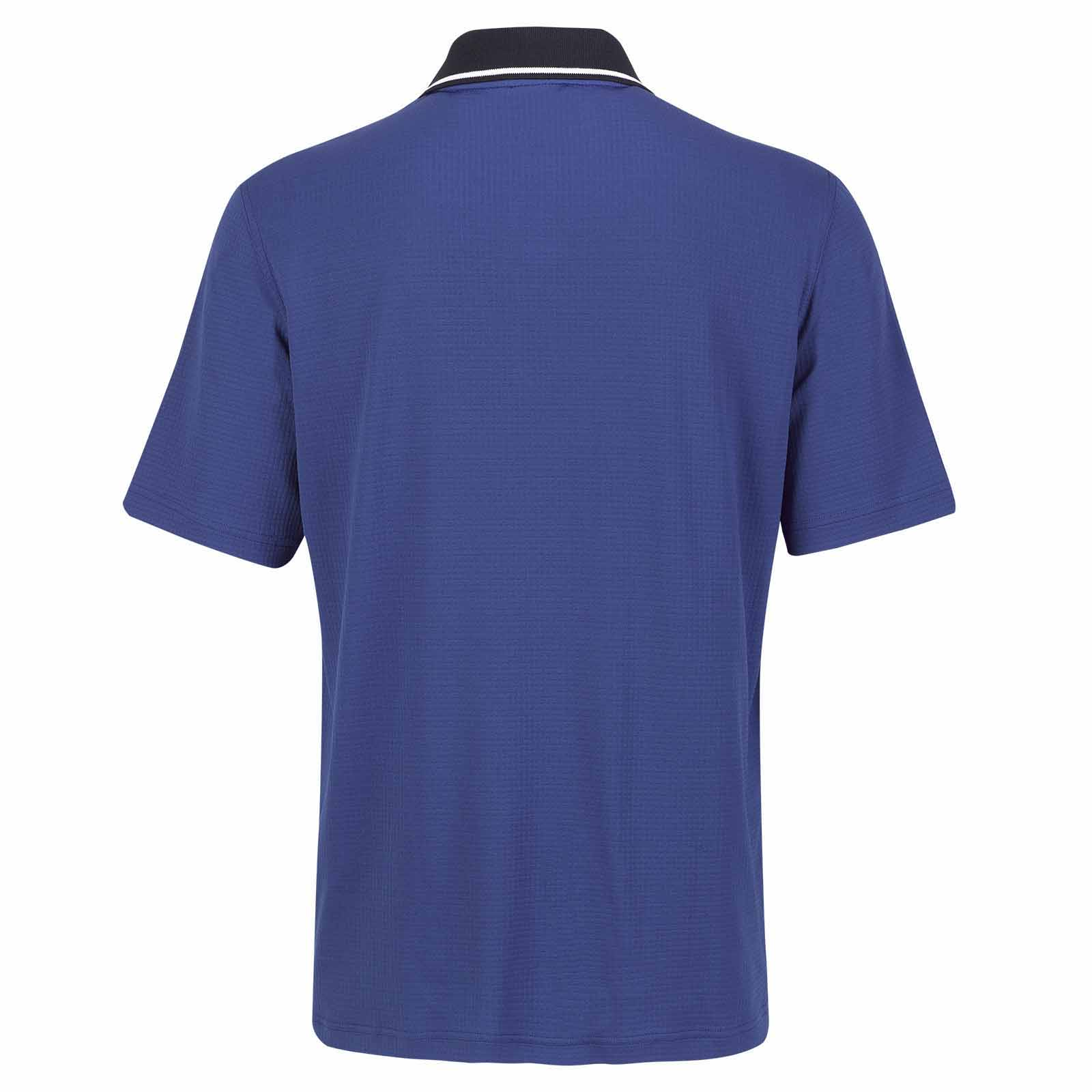 Herren Kurzarm Funktions-Poloshirt feuchtigkeitsregulierend
