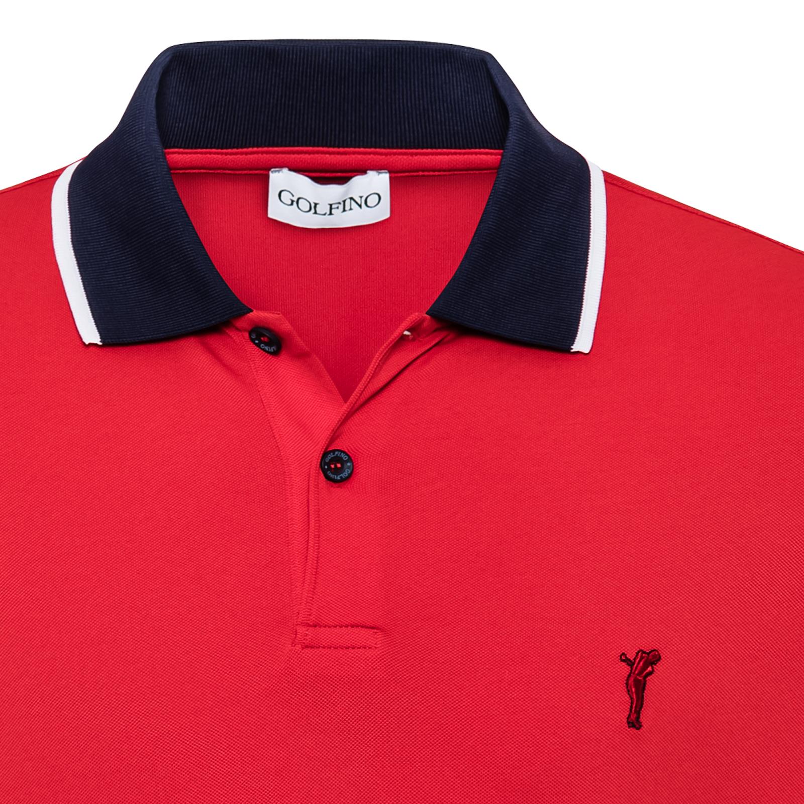 Langärmeliges Herren Poloshirt mit Sonnenschutz