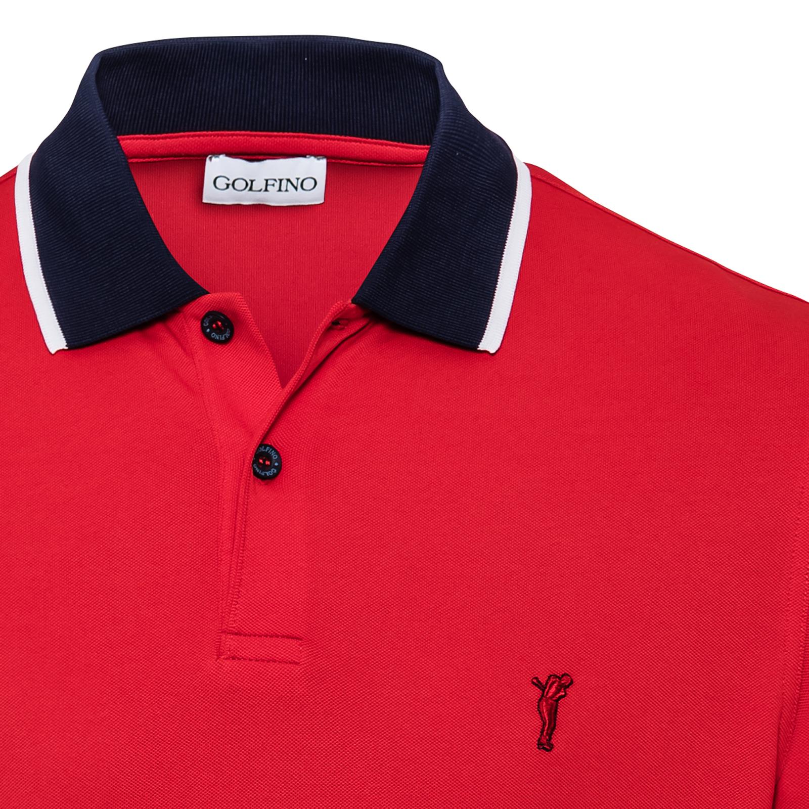 Luftiges Herren Golf-Polo mit Sonnenschutz-Faktor