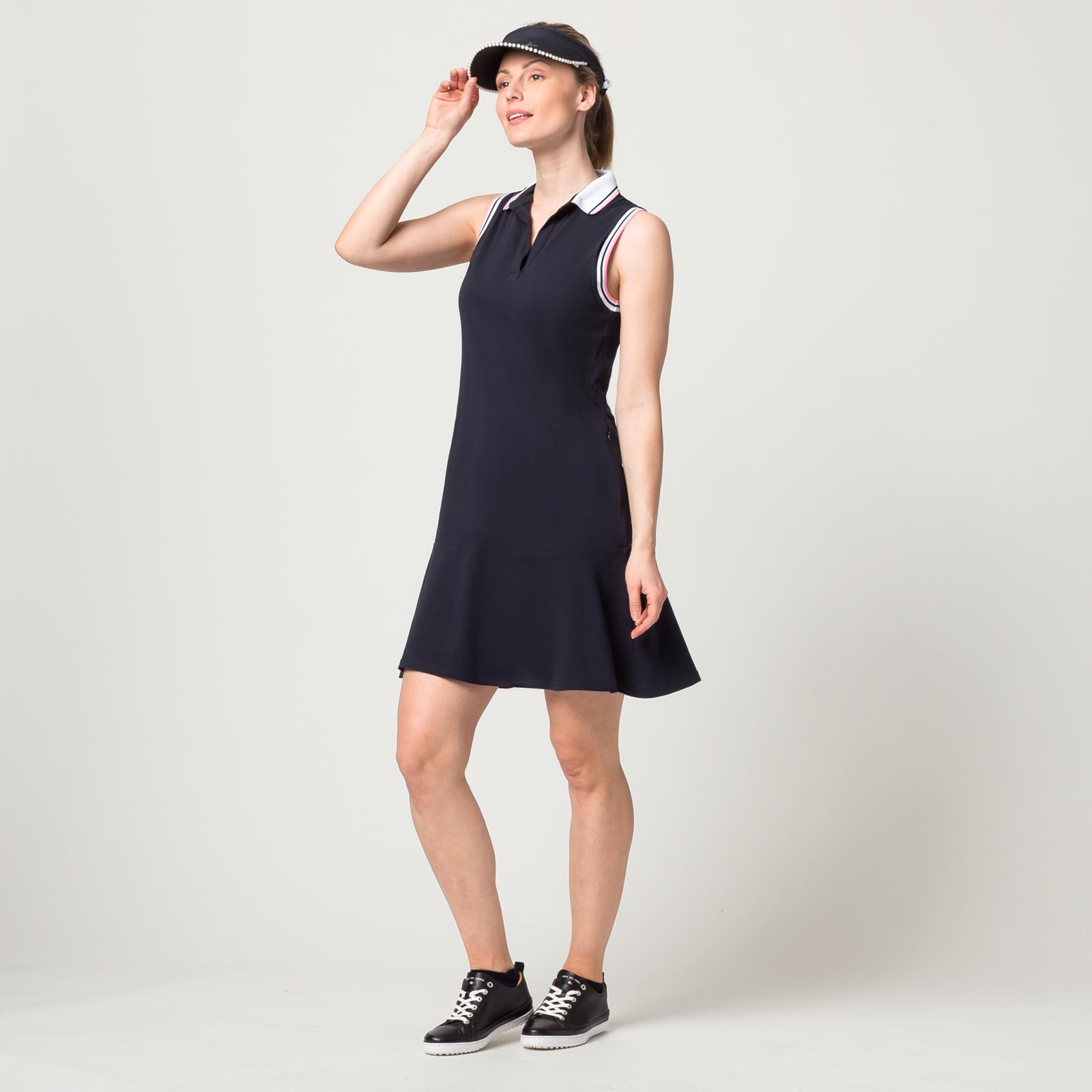 Ärmelloses Damen Golfkleid mit Sonnenschutz in Slim Fit