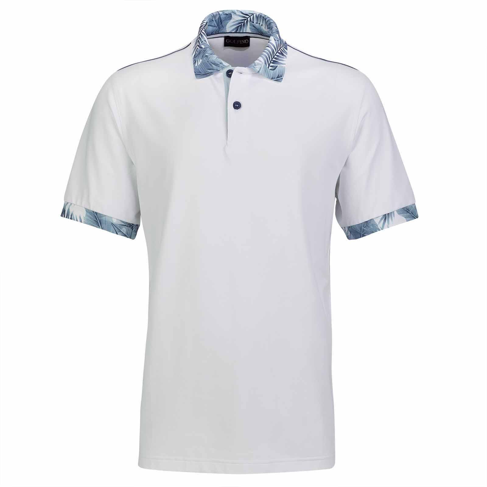 Herren Kurzarm Polo mit Sonnenschutz und hoher Atmungsaktivität in Regular Fit