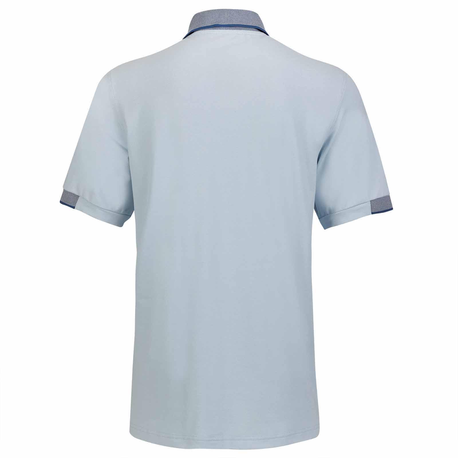 Herren Golfpolo mit Sonnenschutz und hoher Atmungsaktivität in Regular Fit