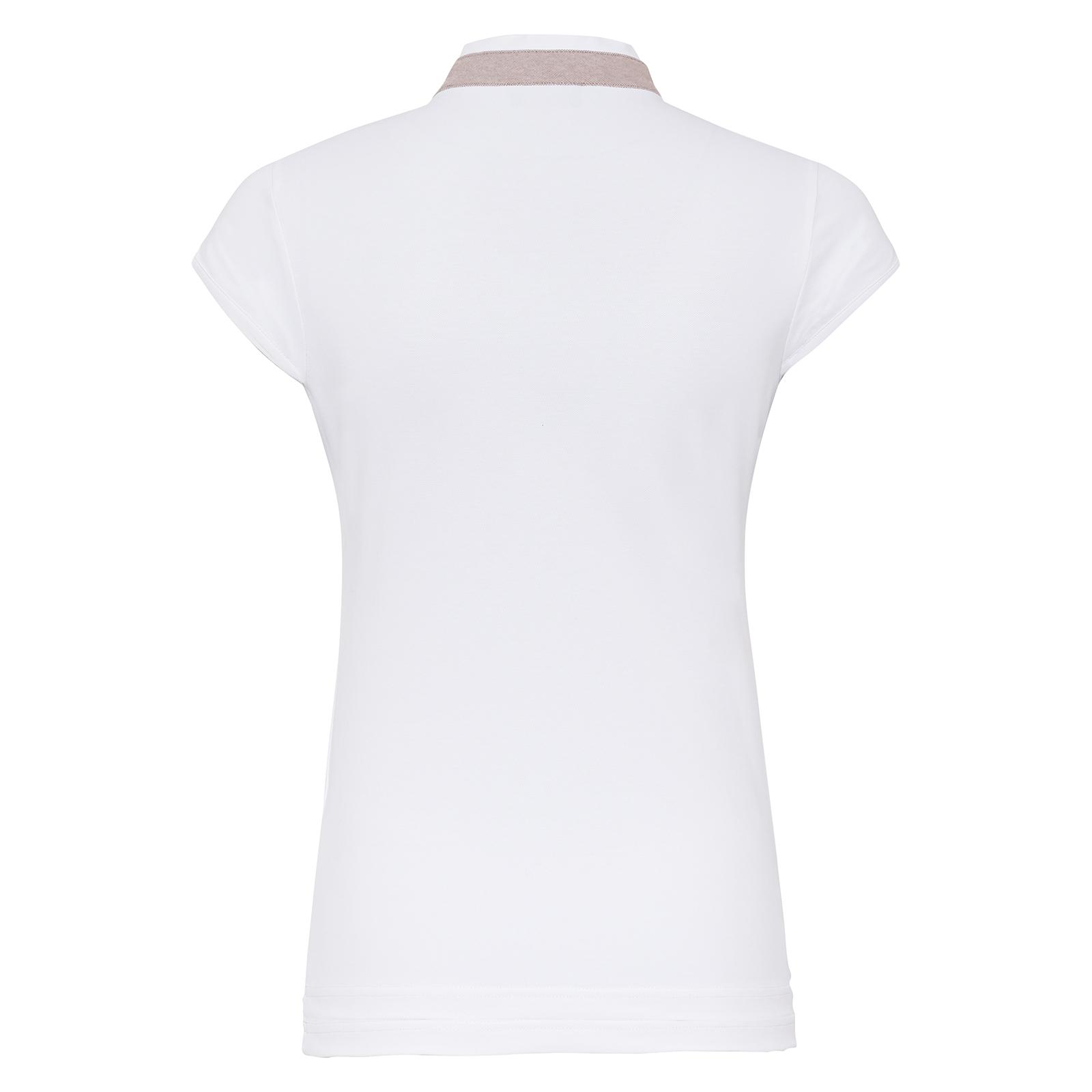 Damen Golf Poloshirt mit Stretch-Funktion und Flügelärmeln