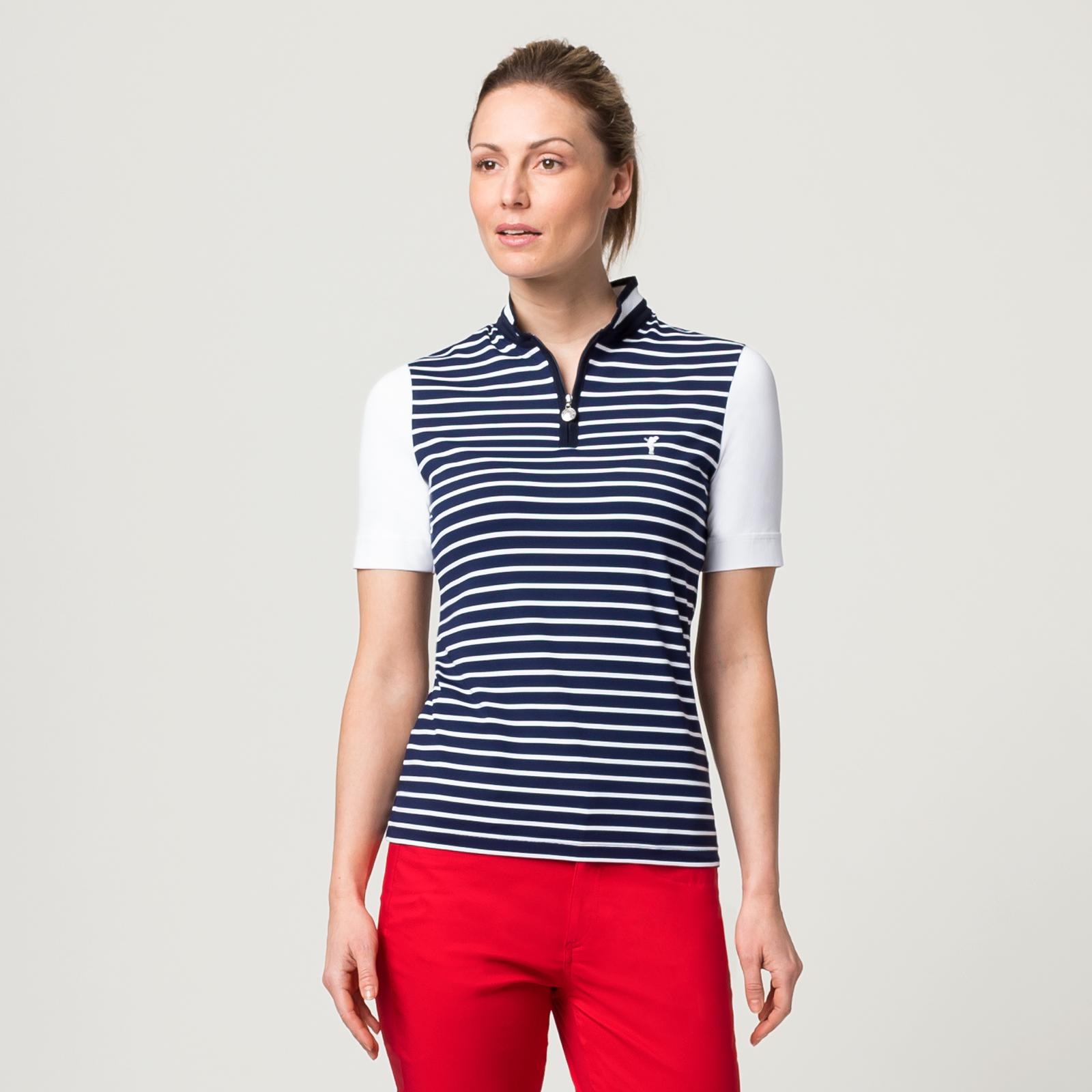 Damen Golf Poloshirt mit Sonnenschutz und Extra Stretch-Komfort