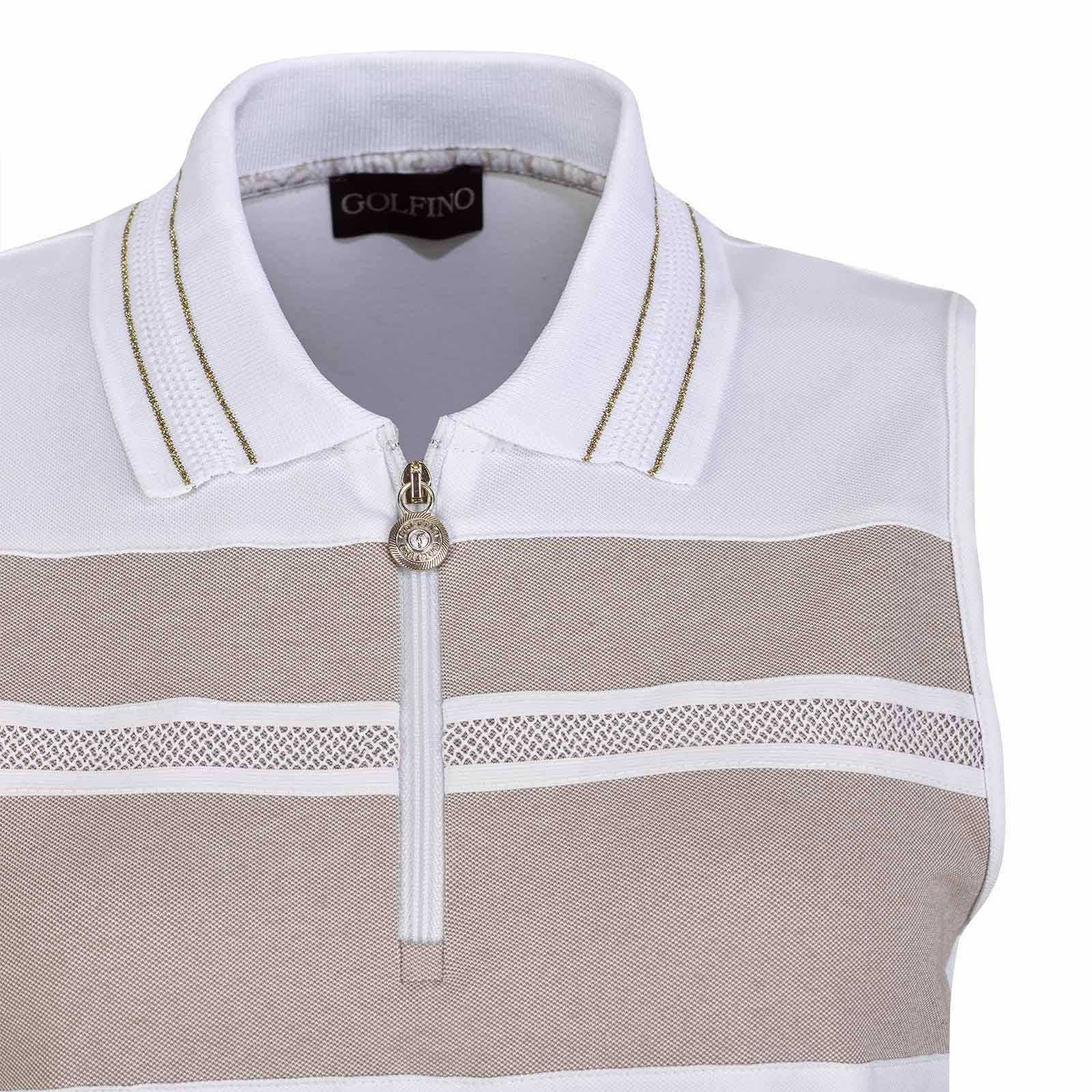 Damen Golfkleid mit Sonnenschutz und modischem Farbkonzept in Slim Fit
