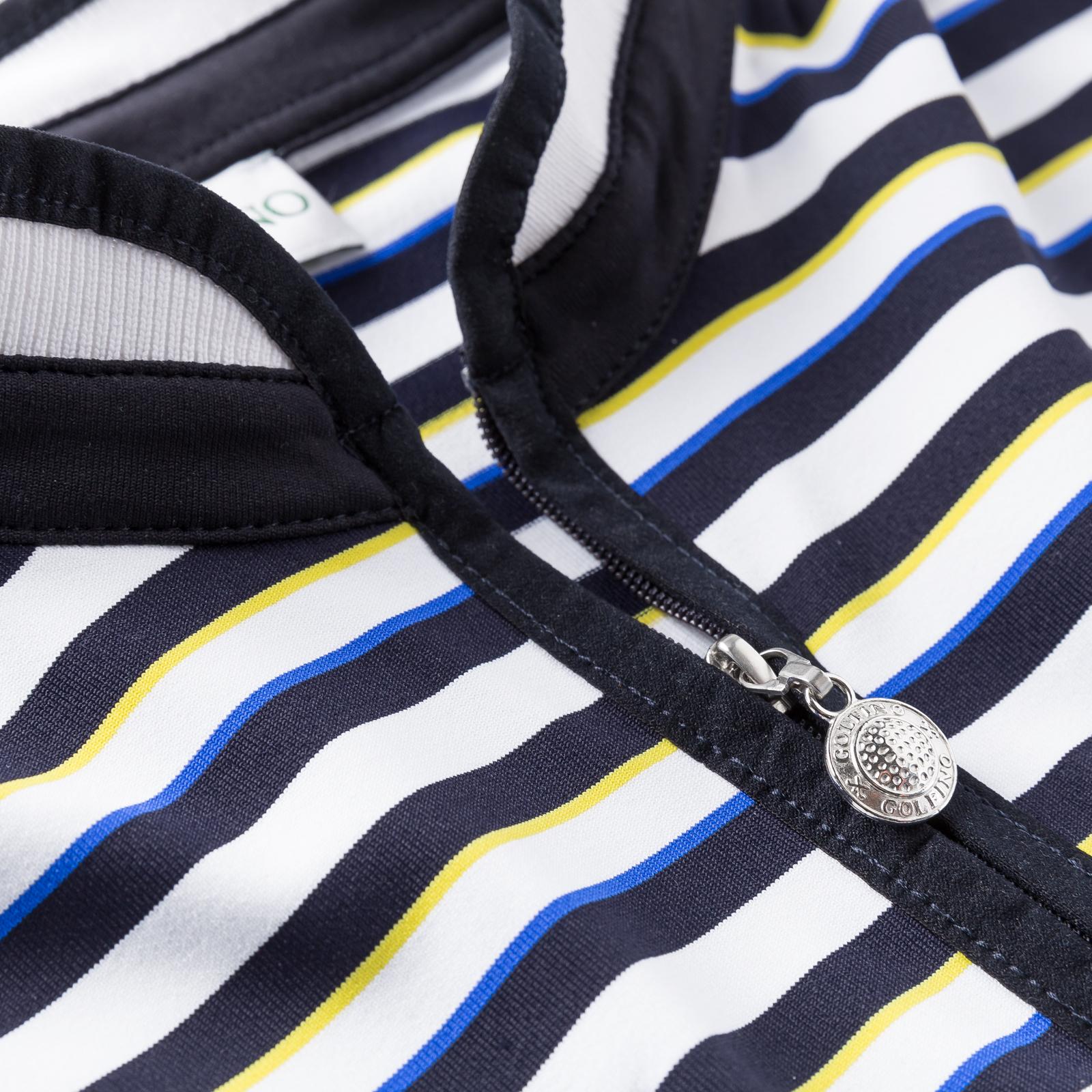 Damen Golfpolo Sonnenschutz und Extra Stretch-Komfort mit Flügelärmeln