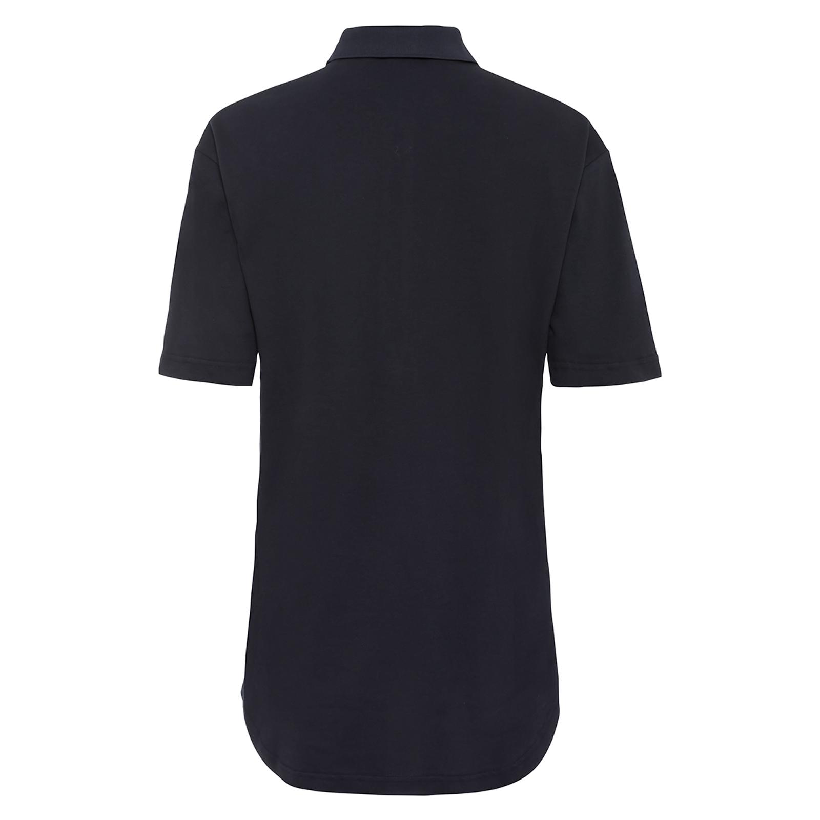 Damen Kurzarm Polo Shirt Extra Stretch Komfort aus Baumwoll-Mix