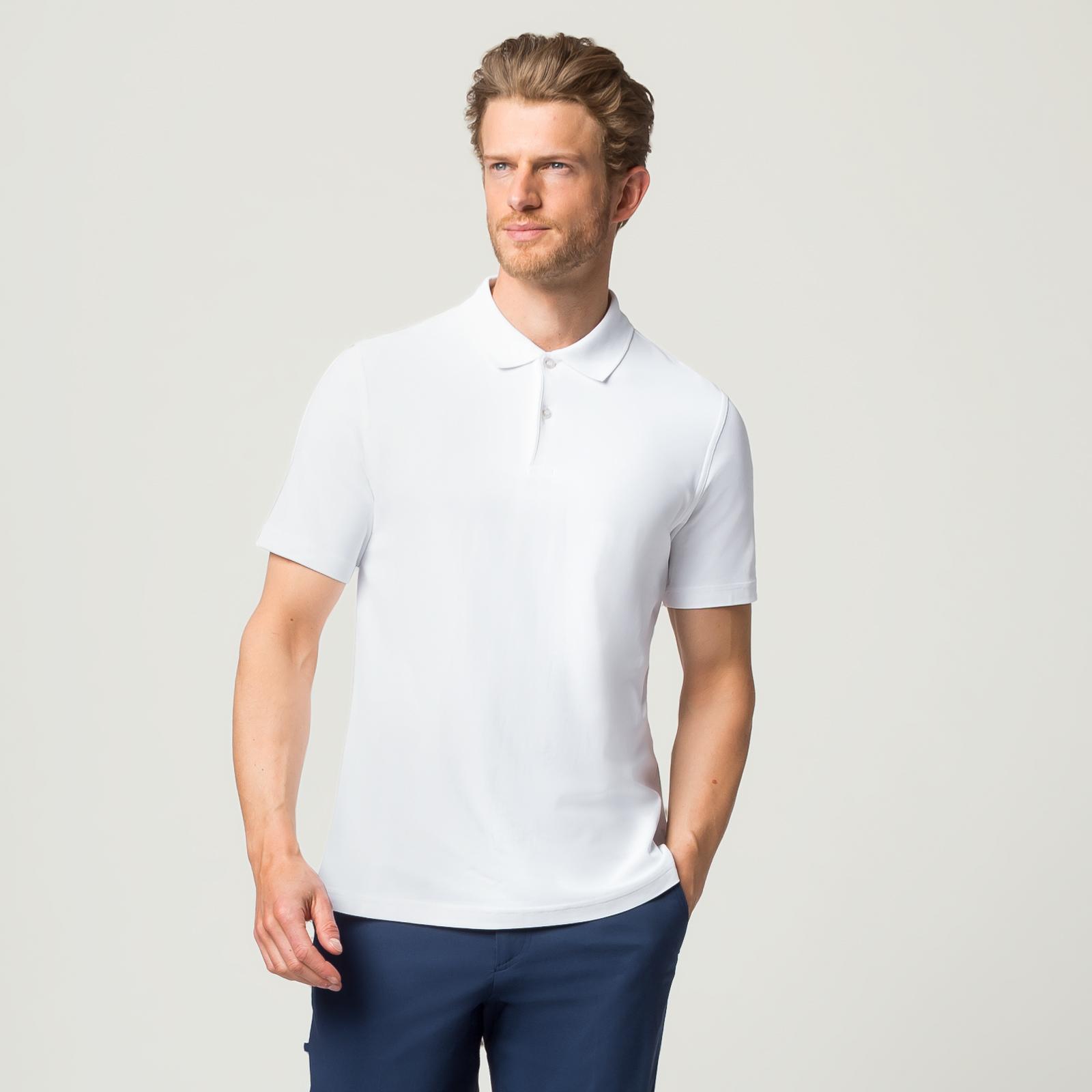 Herren Poloshirt aus feuchtigkeitsregulierendem Material