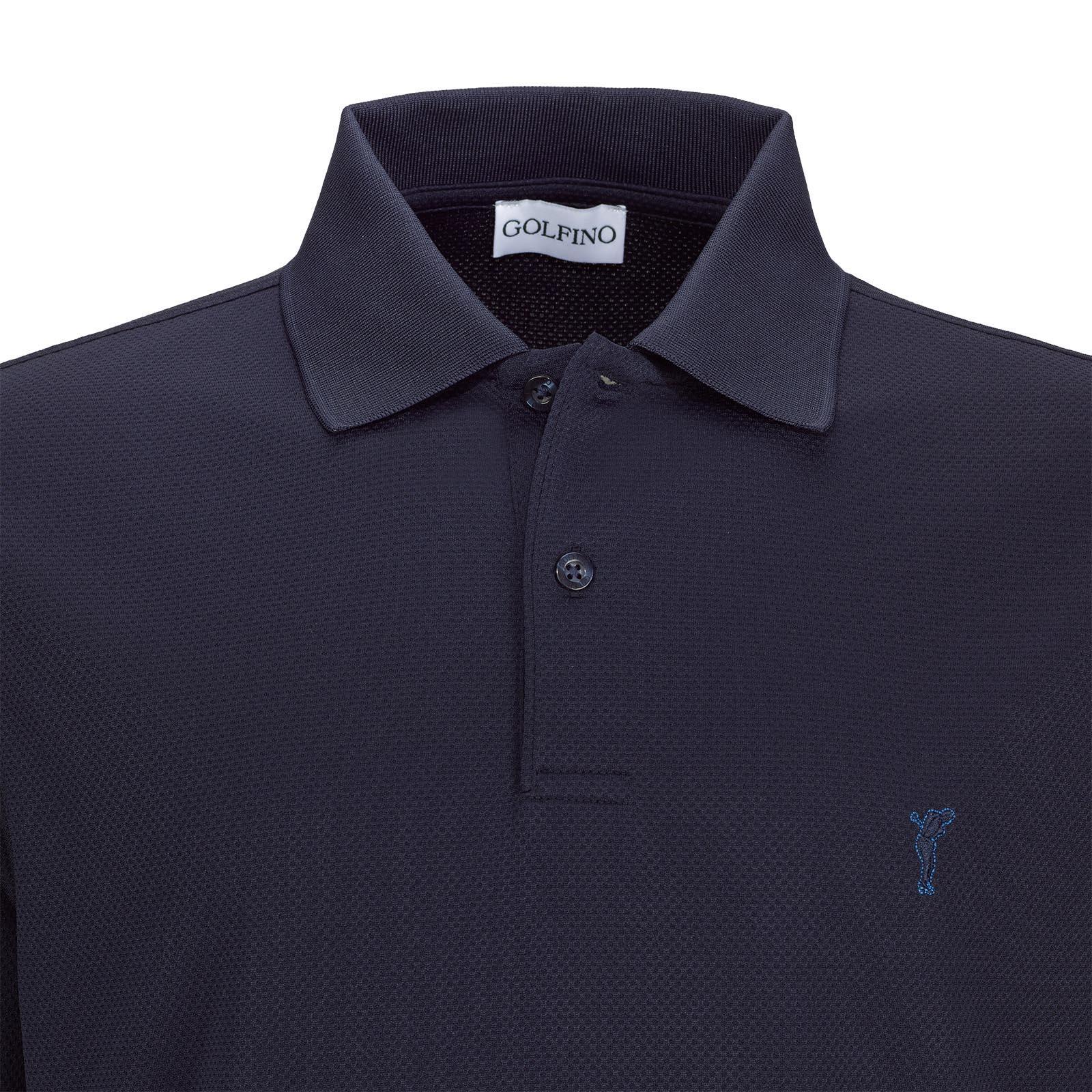 Herren Golfpolo aus antibakteriellem und feuchtigkeitsregulierendem Material
