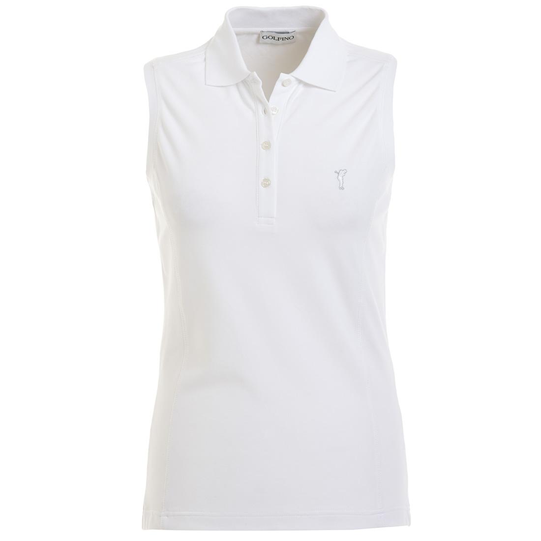 Ärmelloses Damen Golfpolo mit Sonnenschutz-Funktion