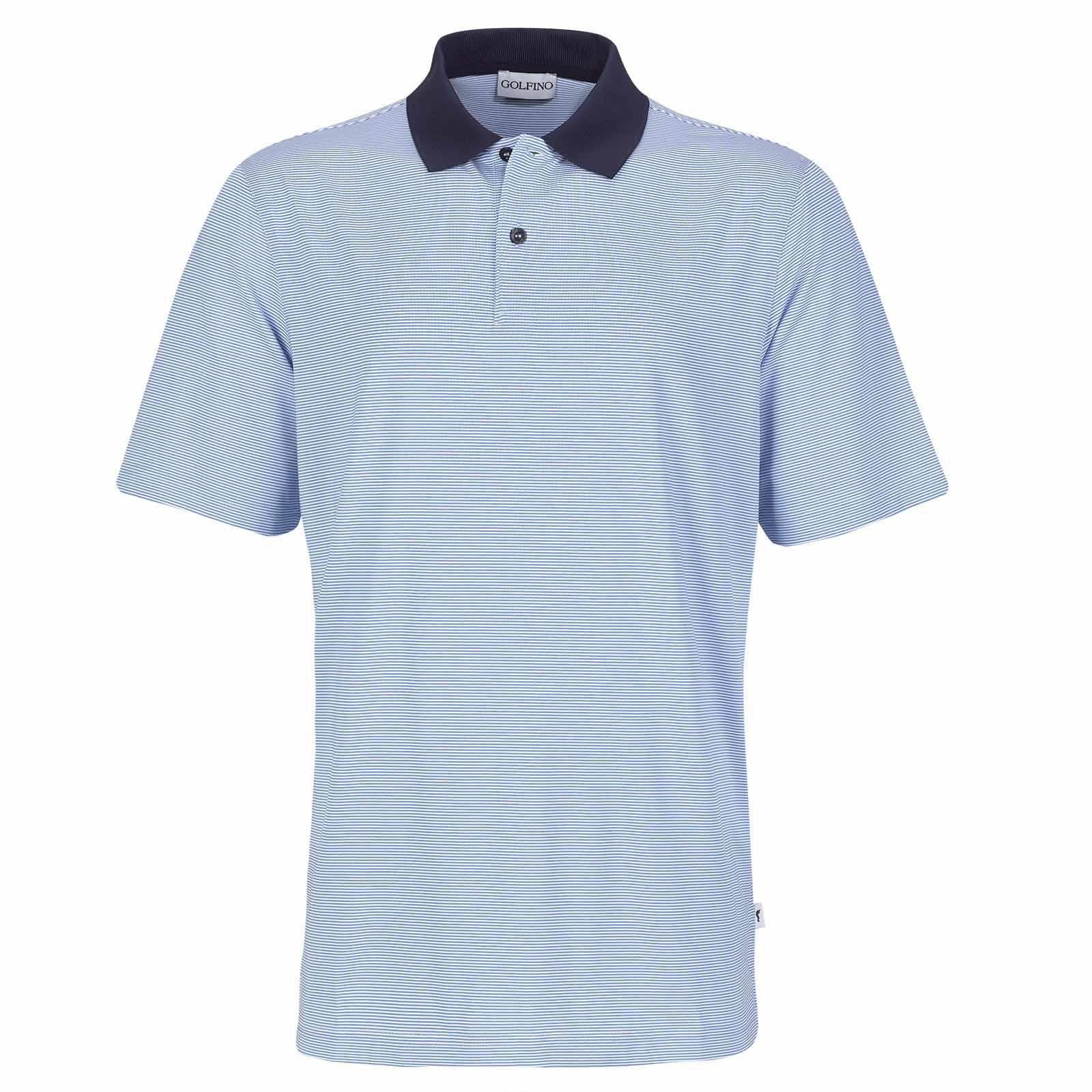 Herren Golfpolo aus feuchtigkeitsregulierendem und schnelltrocknendem Material