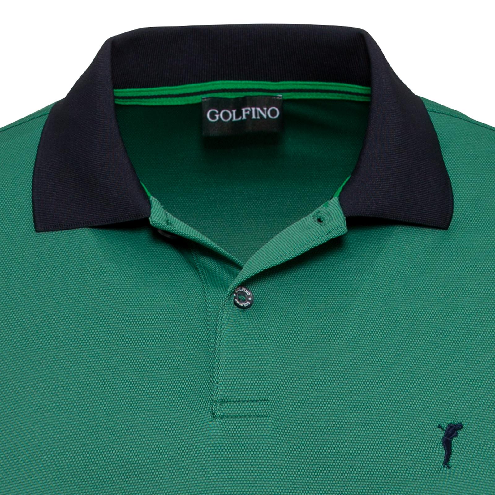 Langärmeliges Herren Golf Polo