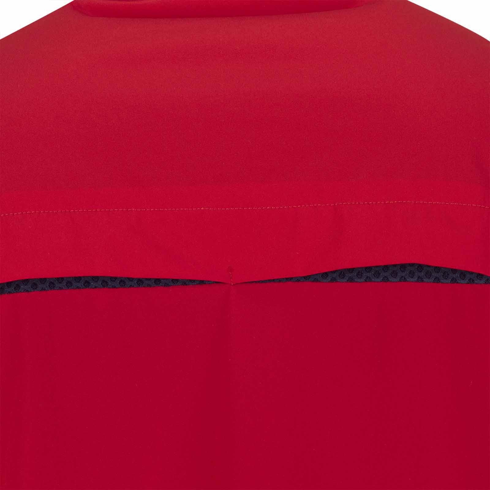 Herren Pullover mit Windschutz, Stehkragen und kurzem Zip in Loose Fit