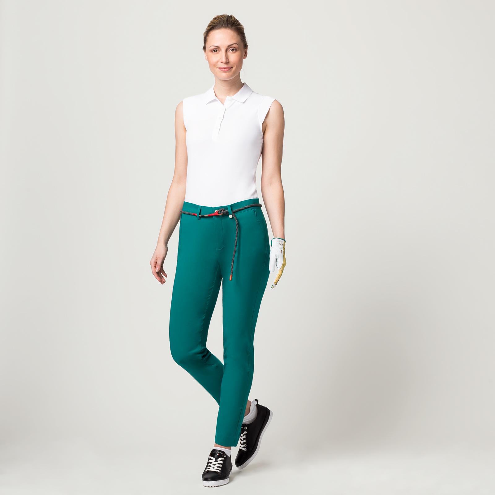Damen 7/8 Golfhose mit Sonnenschutz aus Sofileta® Material in Slim Fit