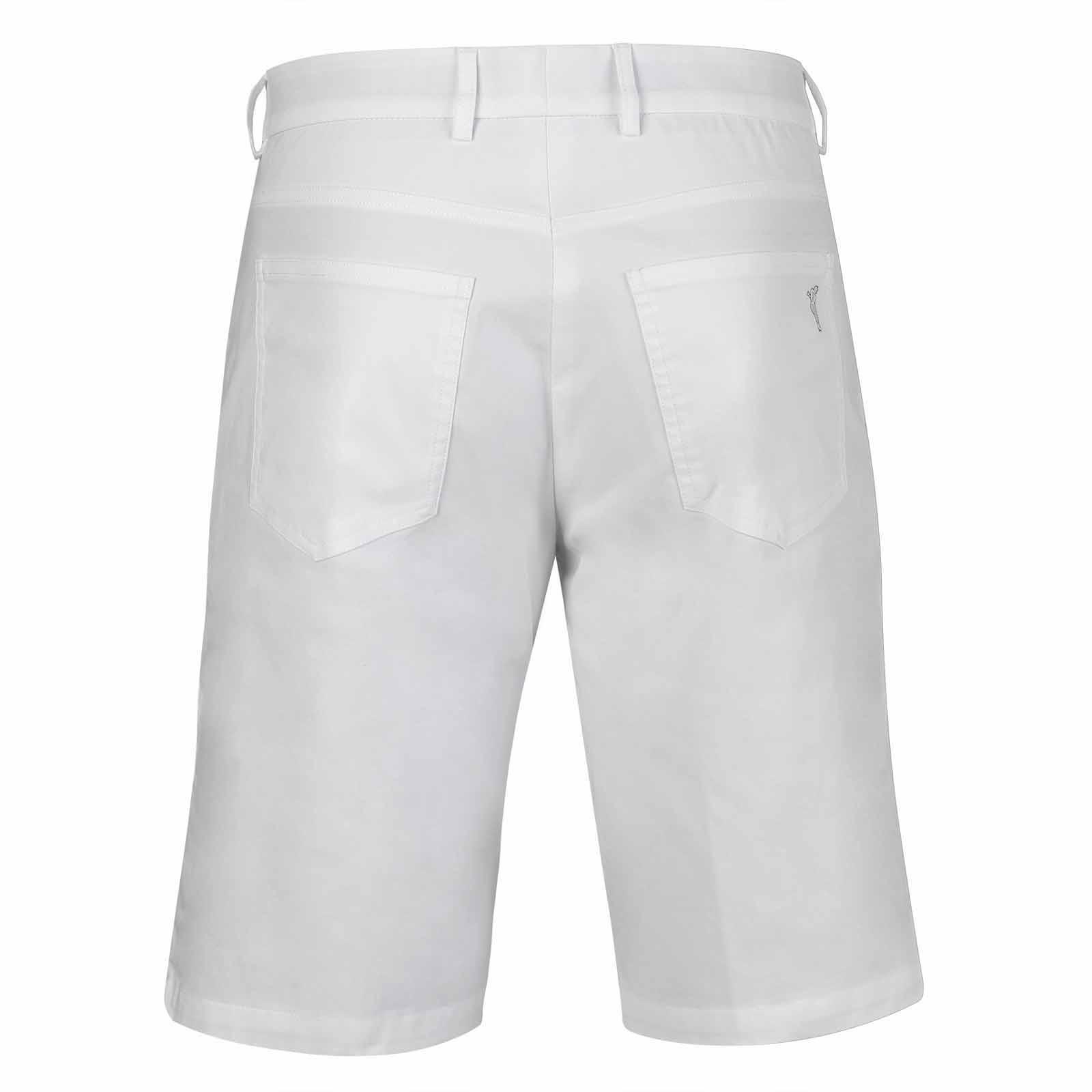 Herren Golf Bermuda mit Sonnenschutz und Stretch Komfort aus Baumwoll-Mix