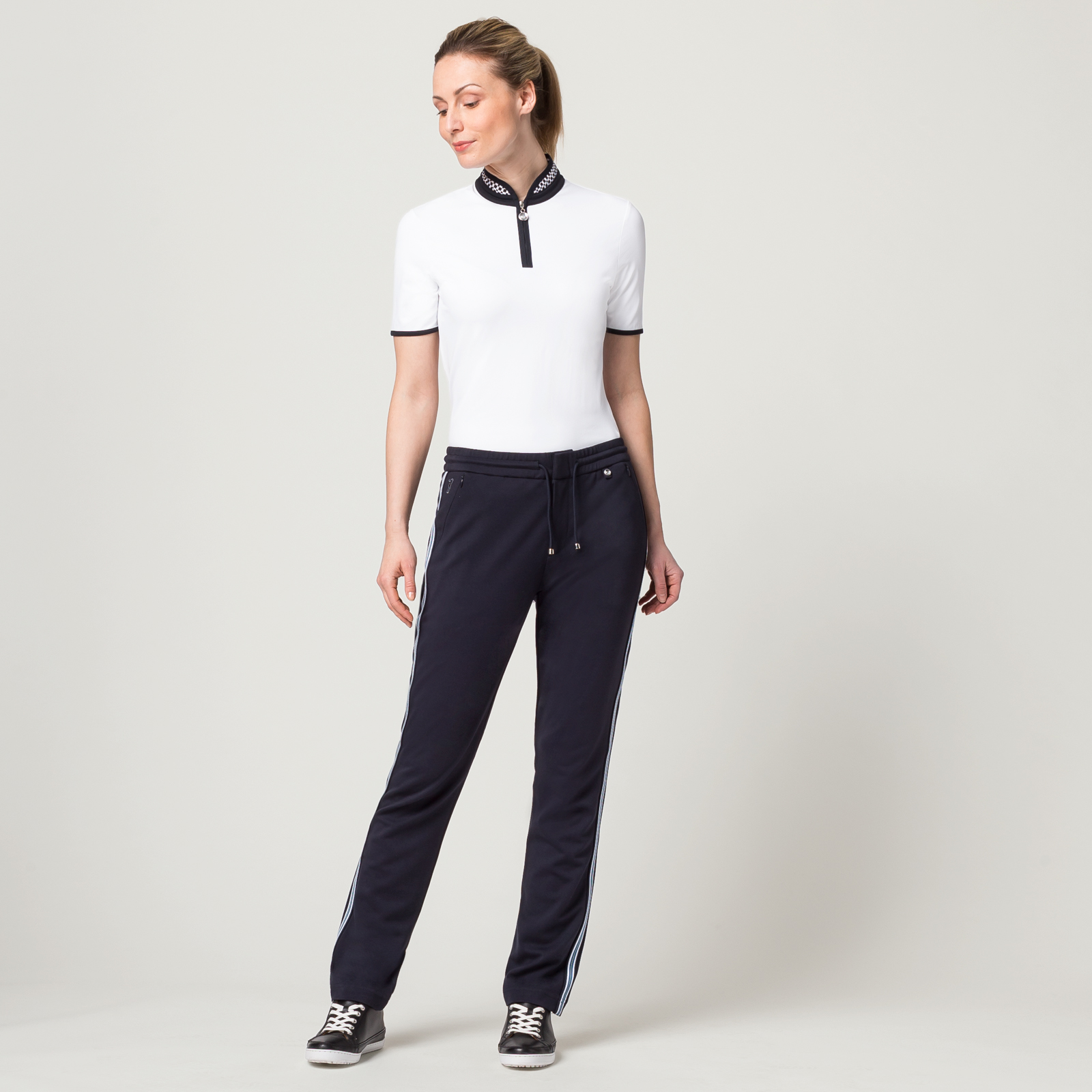 Damen Golfhose mit Extra Stretch Komfort in Regular Fit