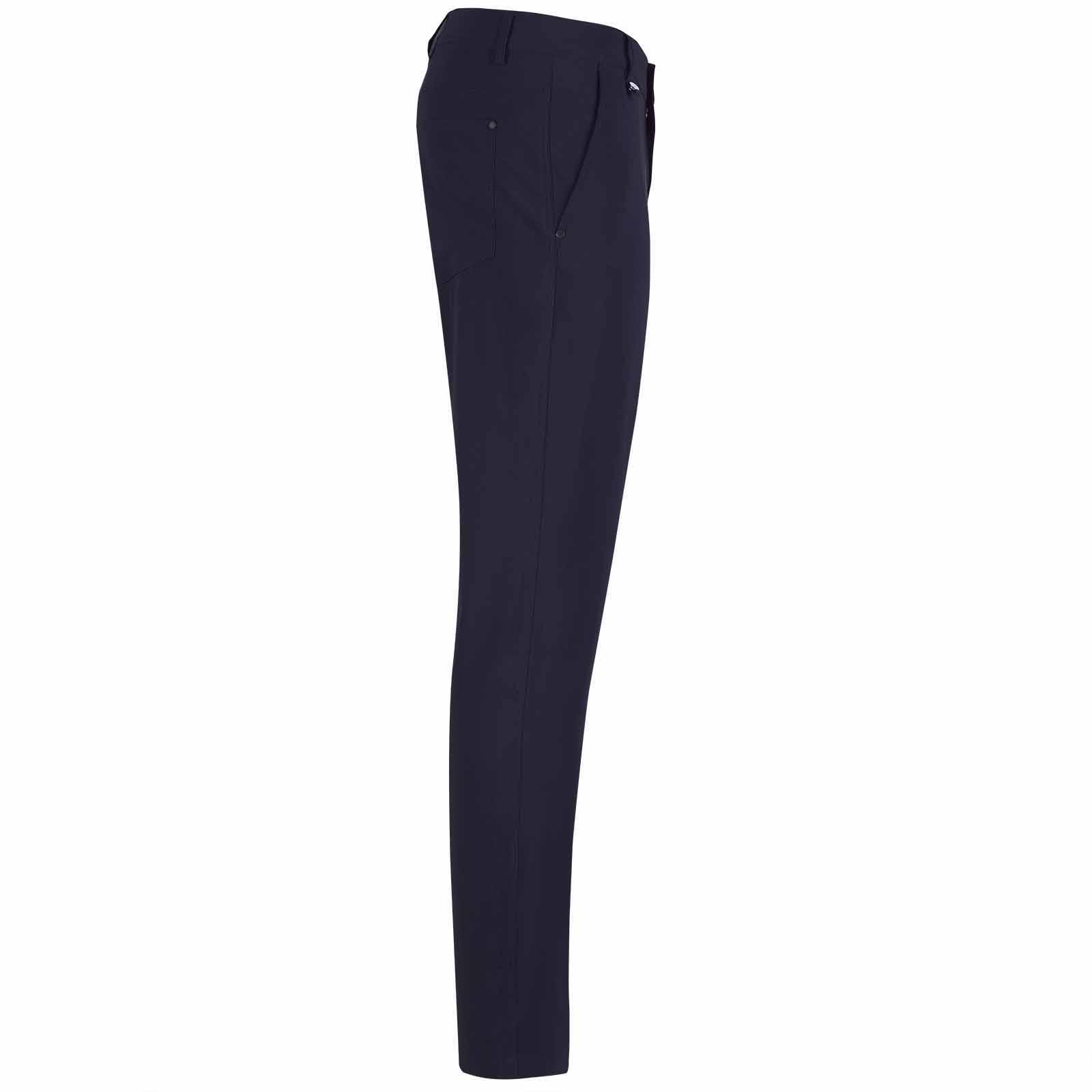 Herren Golfhose wasserabweisend mit Stretch Komfort in Extra Slim Fit
