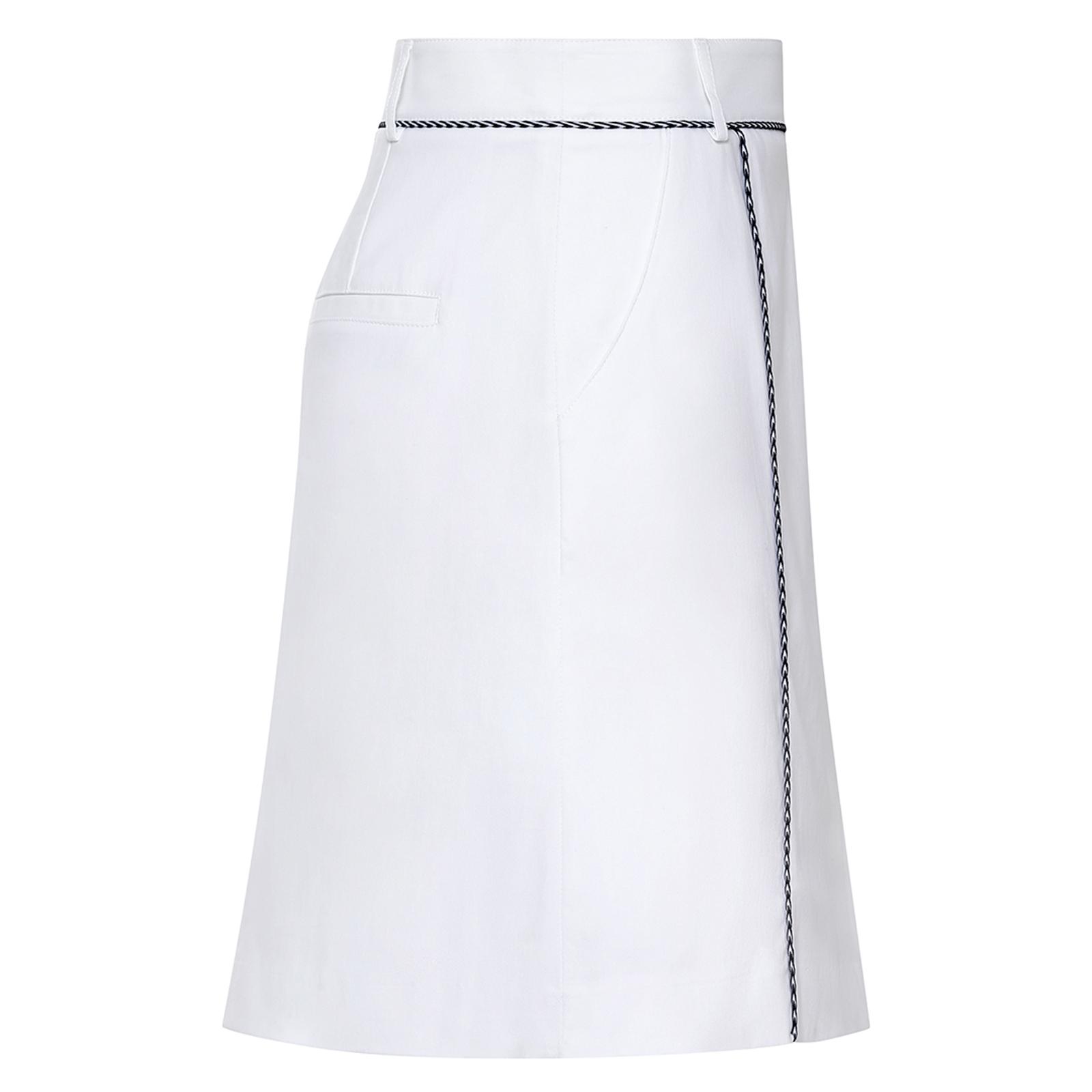 Damen Golfskort mit Sonnenschutz und Extra Stretch Komfort aus Baumwoll-Mix