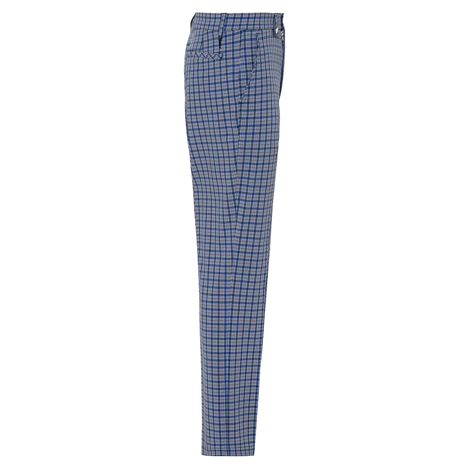 Herren Karo-Golfhose mit Extra Stretch Komfort in Slim Fit