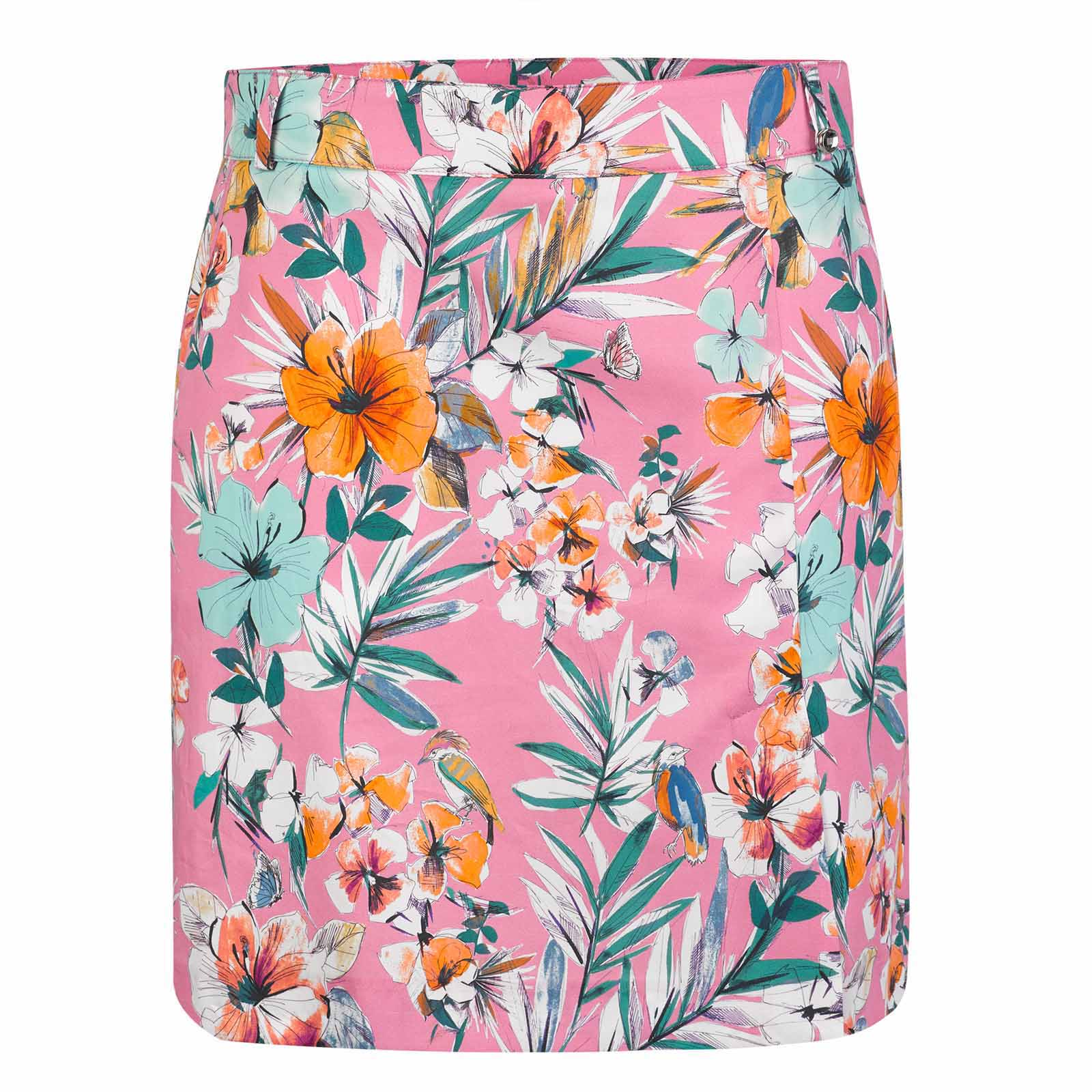 Damen Skort mit Extra Stretch Komfort in Medium Länge aus Baumwoll-Mix