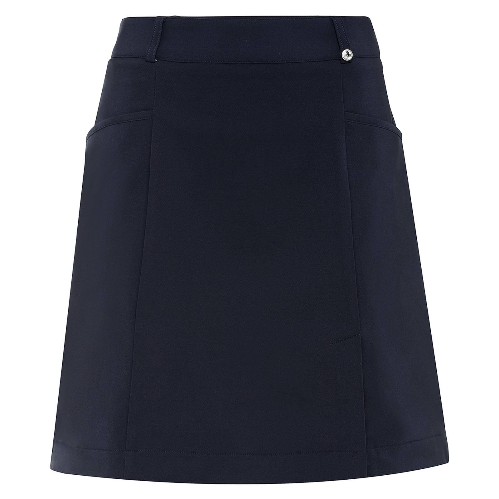 Damen Golfskort wasserabweisend mit Stretch Komfort in kurzer Länge