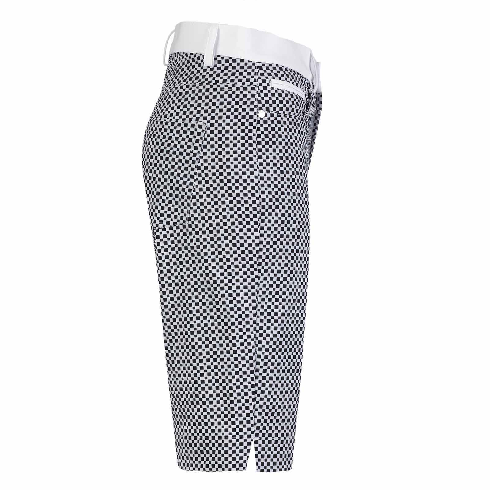 Damen Golf-Bermuda kurz aus wasserabweisendem Stretchmaterial in Slim Fit
