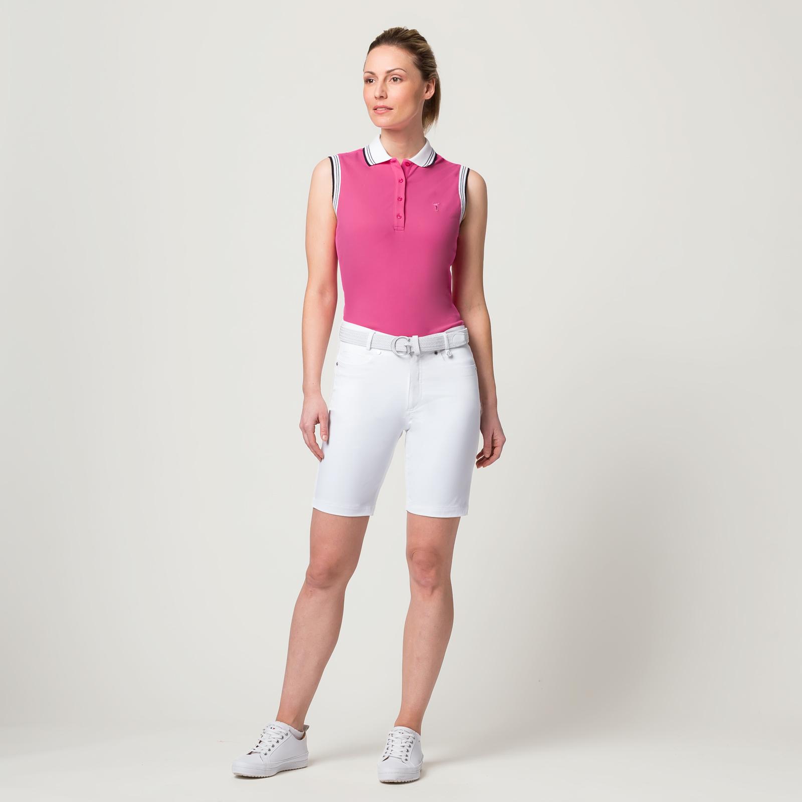 Damen Golf-Bermuda Sonnenschutz mit Extra Stretch Komfort in Slim Fit