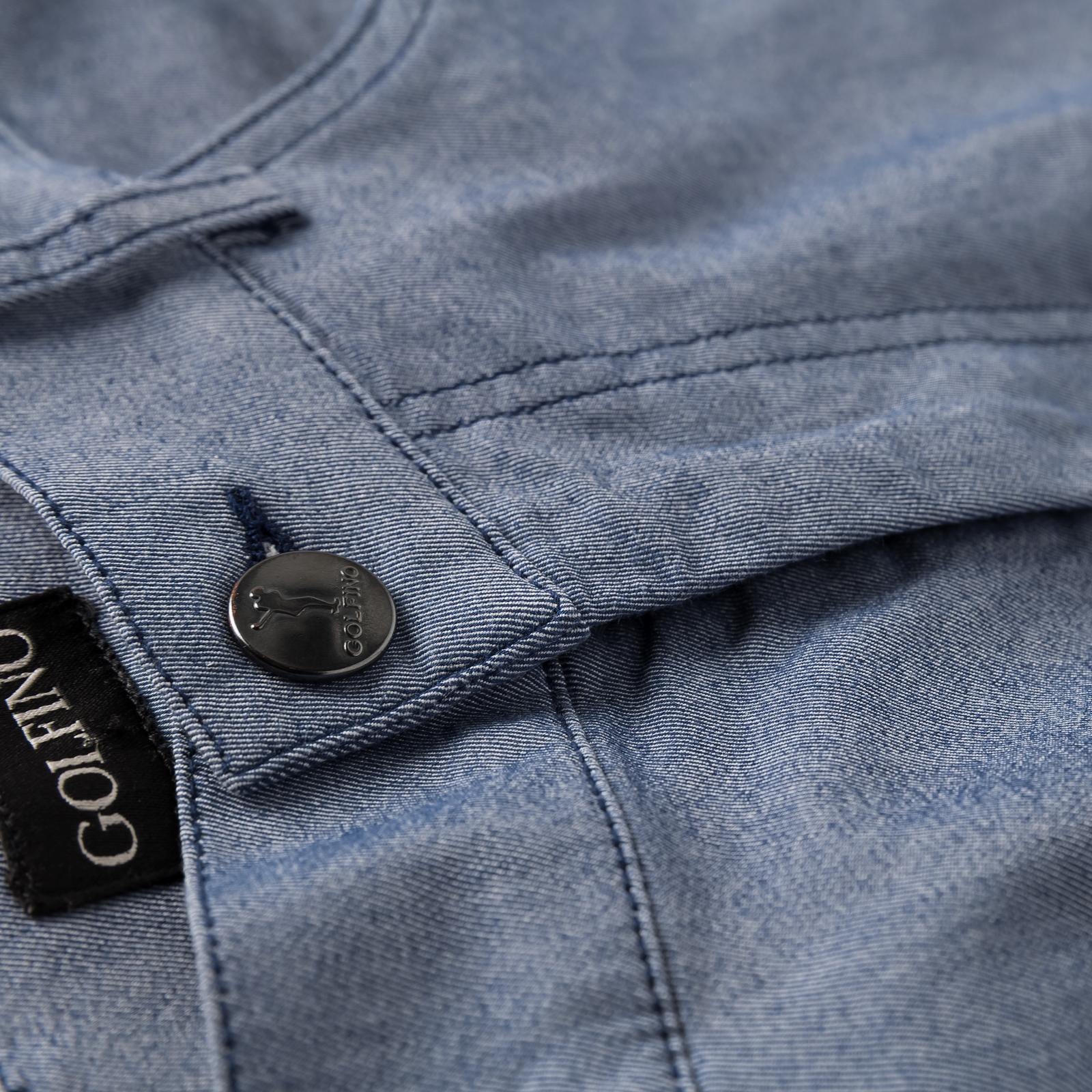 Herren Golfhose mit Extra Stretch Komfort aus Baumwoll-Mix im 5-Pocket-Stil