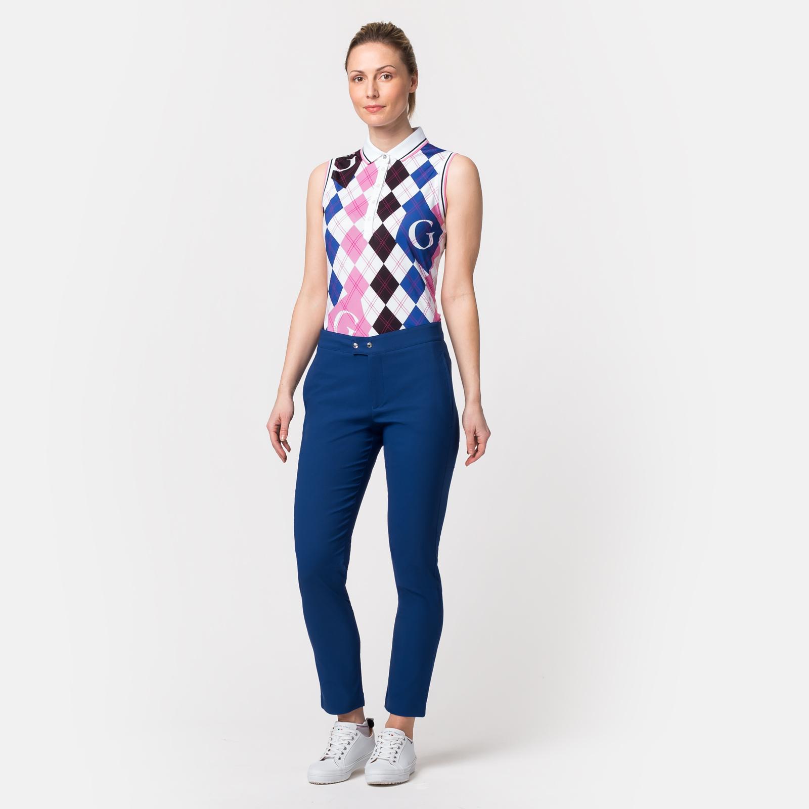 Damen 7/8-Golfhose mit Extra Stretch Komfort und Sonnenschutz