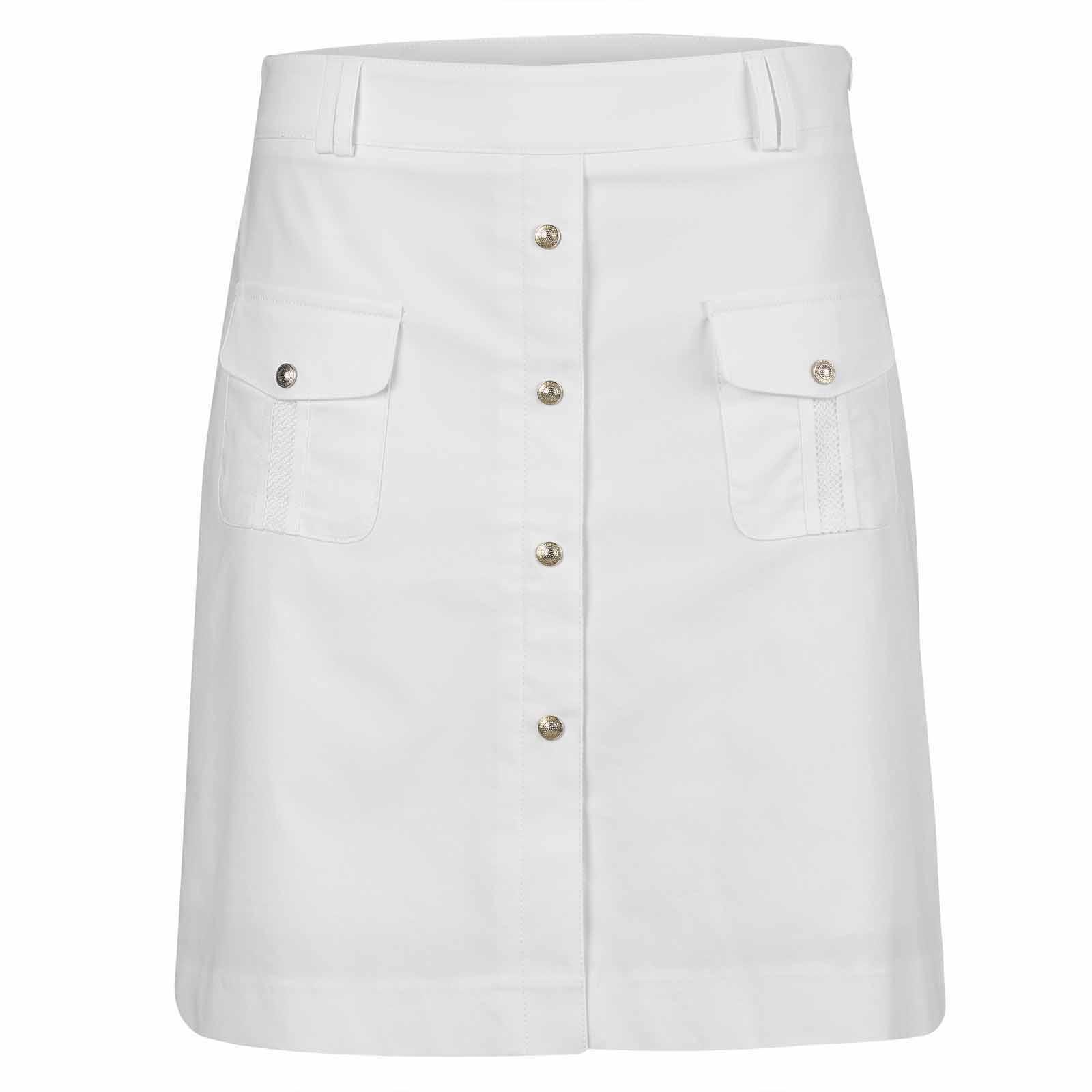 Damen Golfskort lang mit Sonnenschutz und Extra Stretch Komfort
