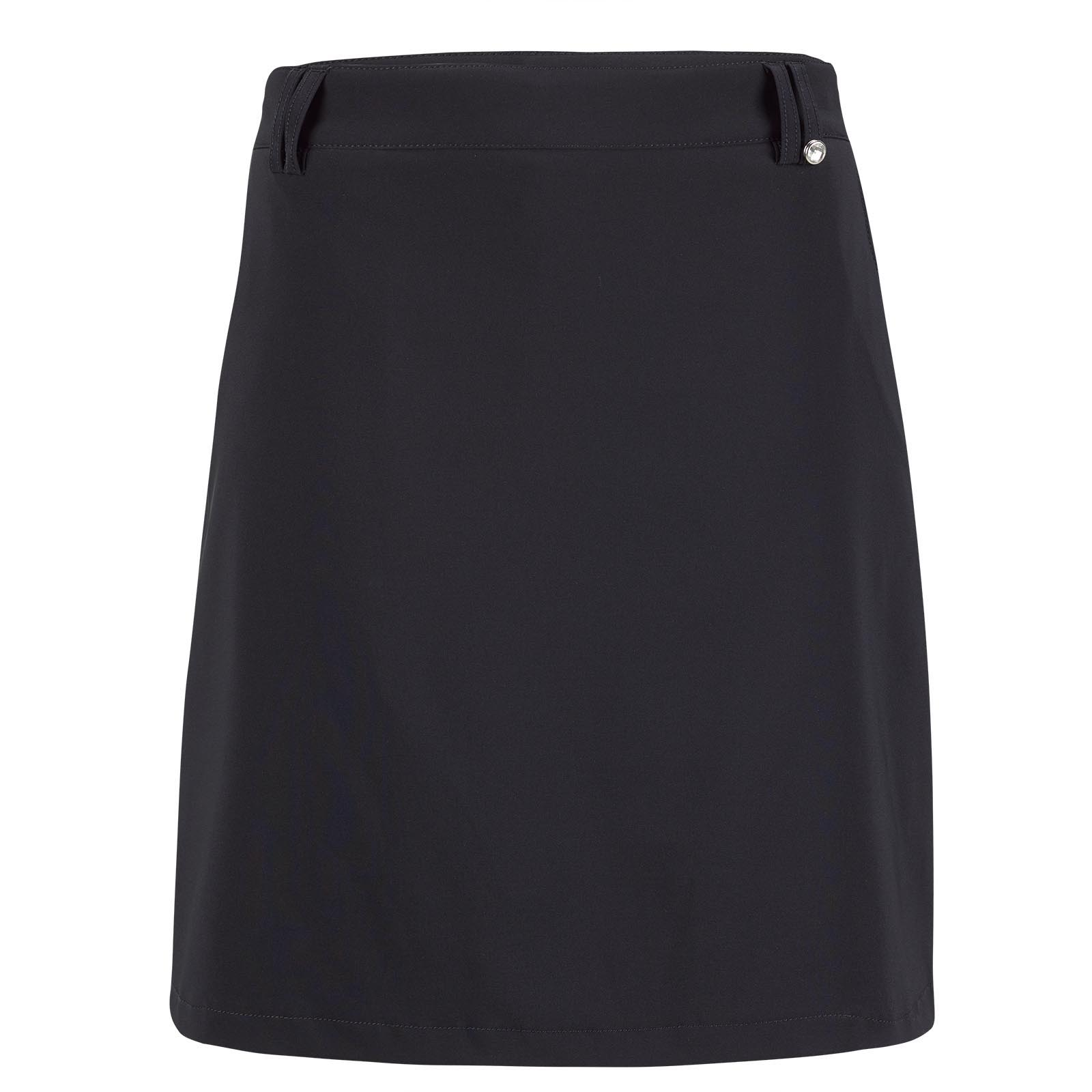 Falda pantalón de golf para mujer de material elástico impermeable