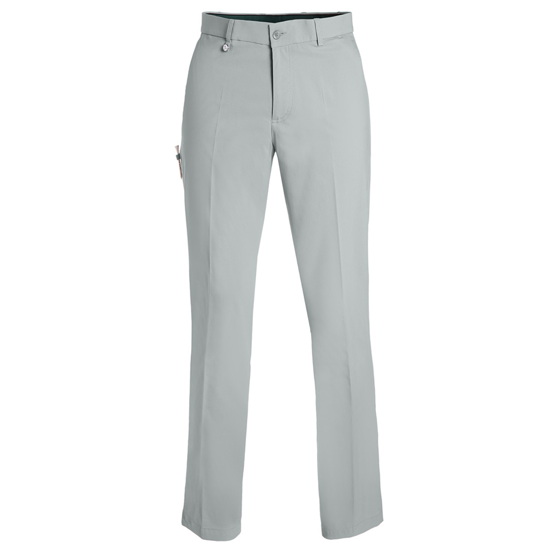 Men's pants made from stretch material with sun protection function
