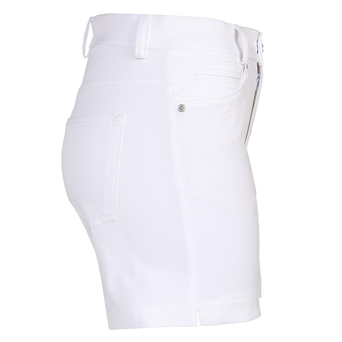 Damen Golfbermuda in kurzem Slim Fit mit Stretch-Anteil und Sonnenschutz
