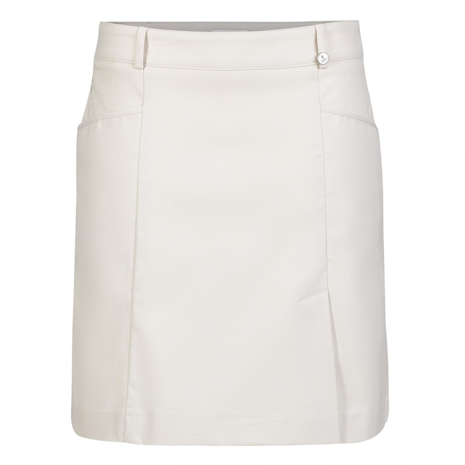 Ladies' skort made from stretch material with sun protection function
