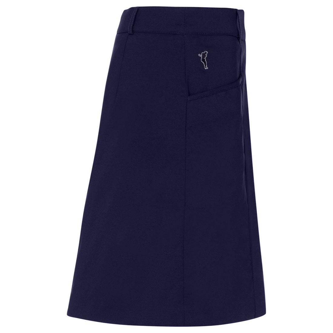 Damen Skort aus wasserabweisendem Stretch-Material mit Sonnenschutz-Funktion